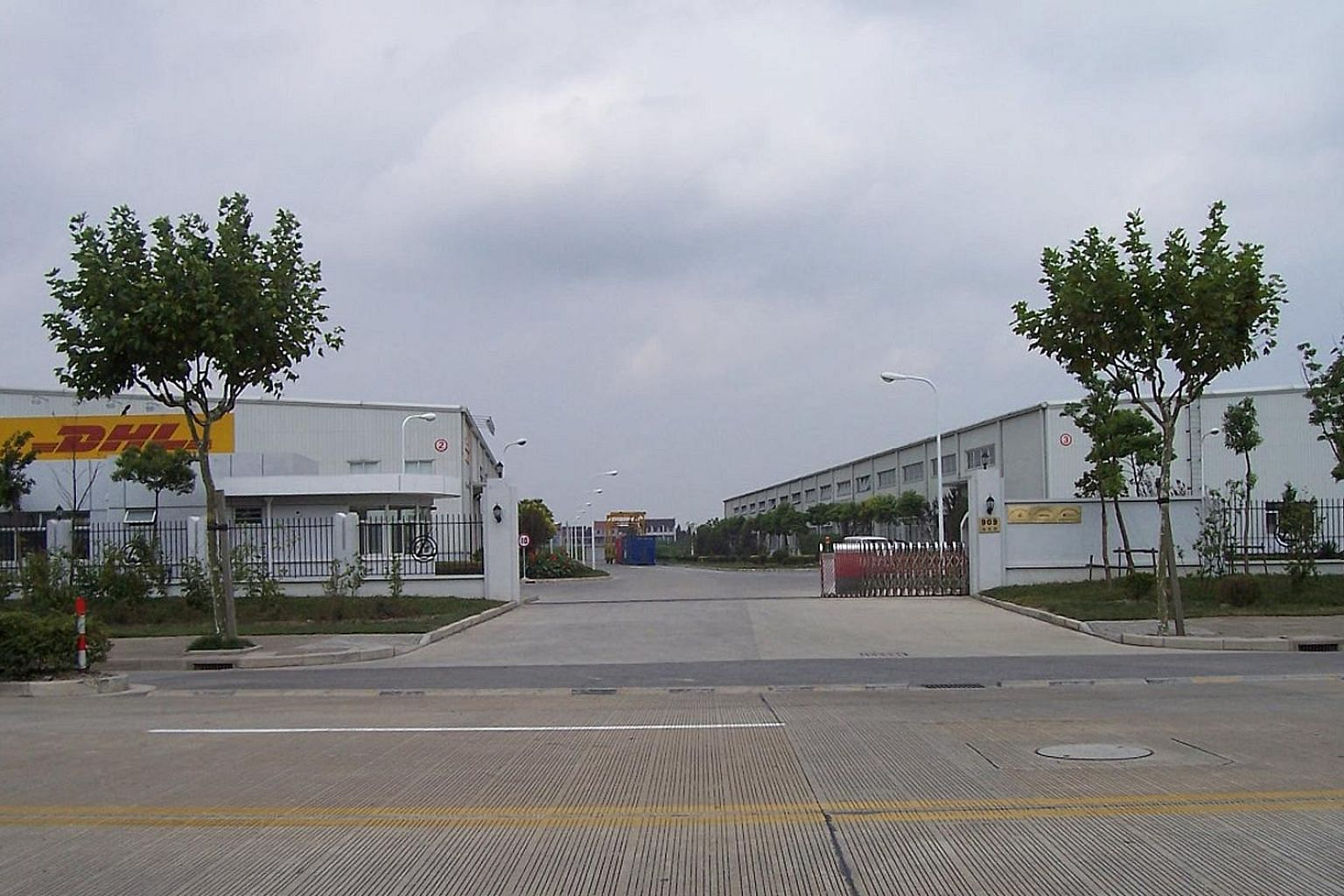 Mapletree Logistics Trust's growth was partially offset by the absence of contributions from four divestments and one of two blocks under redevelopment in Ouluo Logistics Centre (above) in Shanghai's Pudong new district