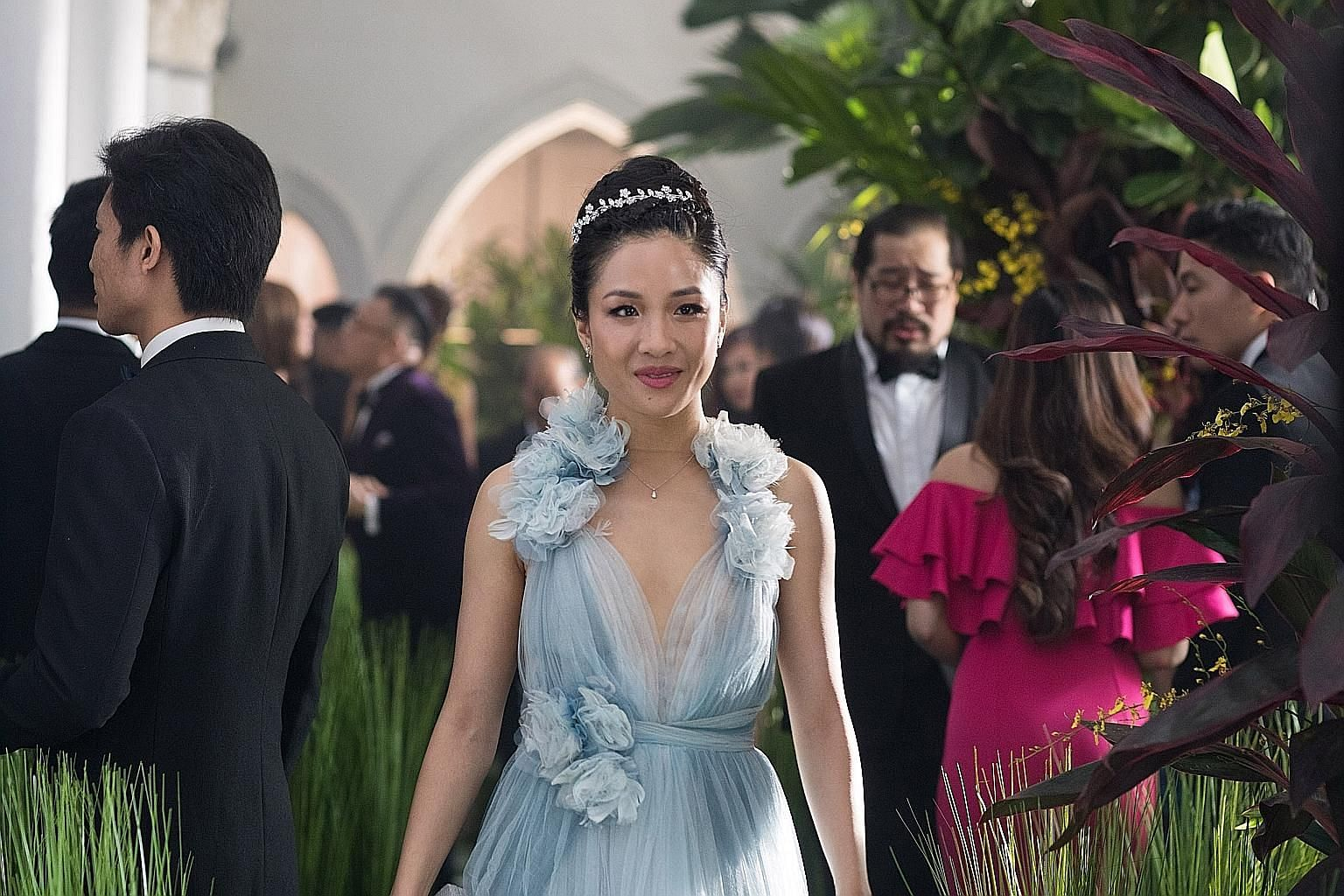 Constance Wu stars as Rachel Chu, an average person who happens to win the heart of one of Singapore's richest bachelors.