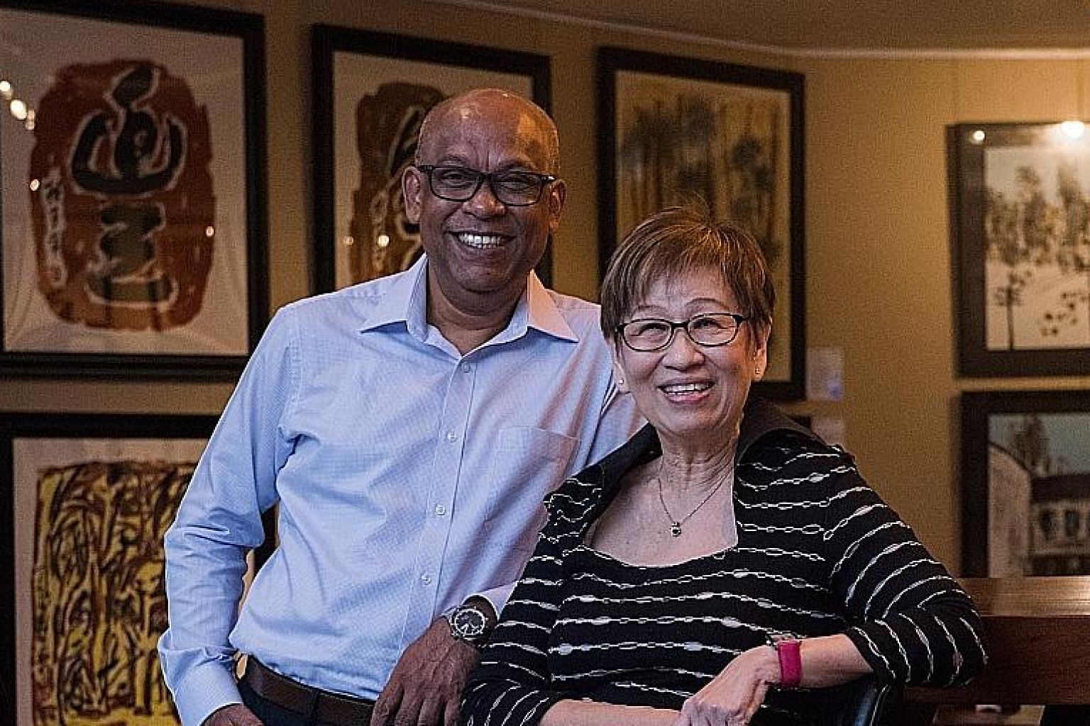 Social service veterans Abhimanyau Pal, 53, and June Tham, 67, said staff are now better trained, and have more professional and career development opportunities, which lead to better-run services. The recommended salary for a social worker fresh out