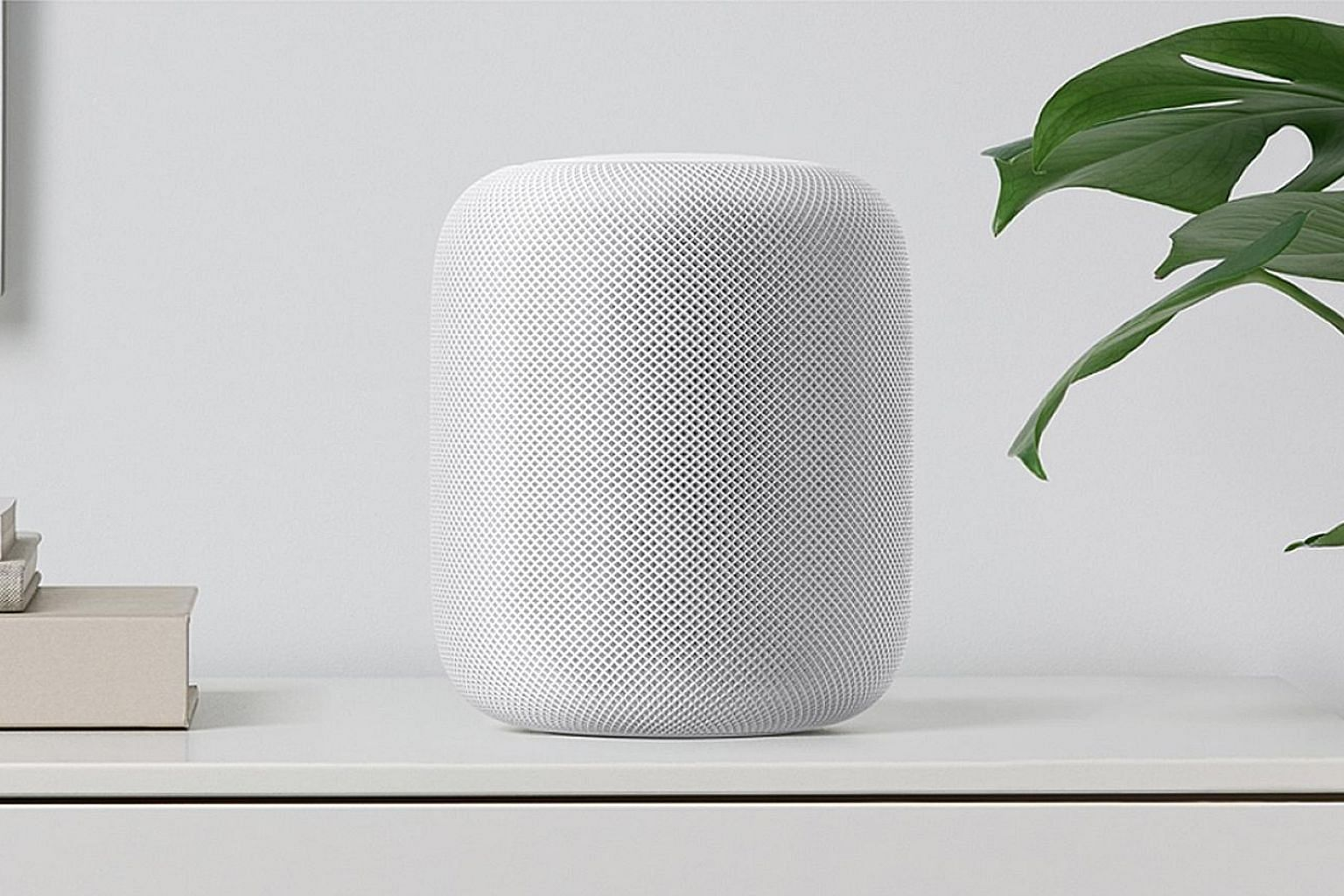 Minimalist and sleek, Apple's HomePod has seven tweeters, each with its own amplifier.