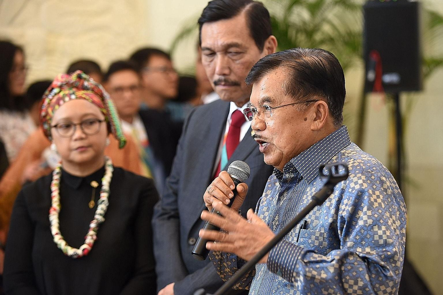 Mr Jusuf Kalla was vice-president under Dr Susilo Bambang Yudhoyono after they won the 2004 election. He became vice-president again when he paired up with Mr Joko Widodo in 2014.