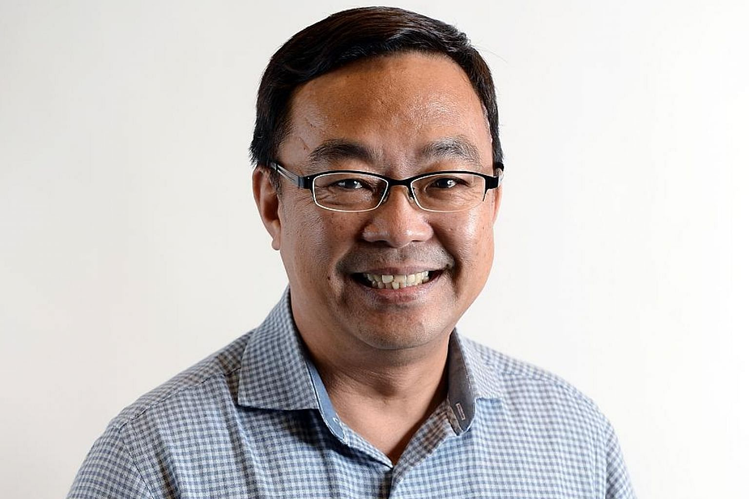Mr Cedric Foo (above) will head the Communications and Information GPC; Ms Tin Pei Ling, Mr Murali Pillai and Ms Rahayu Mahzam are No. 2s in various GPCs.