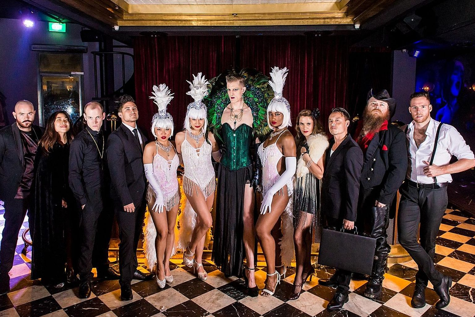 Engage, or watch, the cast of the Secret Theatre Project Singapore for a fun night out.