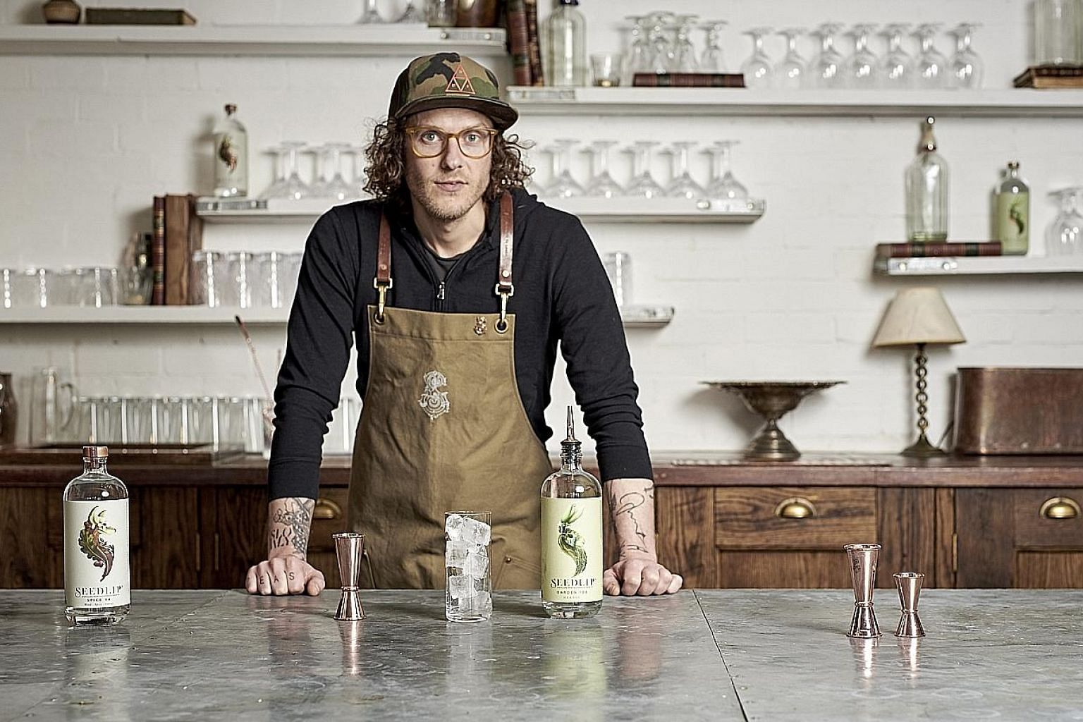 Seedlip founder Ben Branson has not drunk alcohol since launching the spirit.