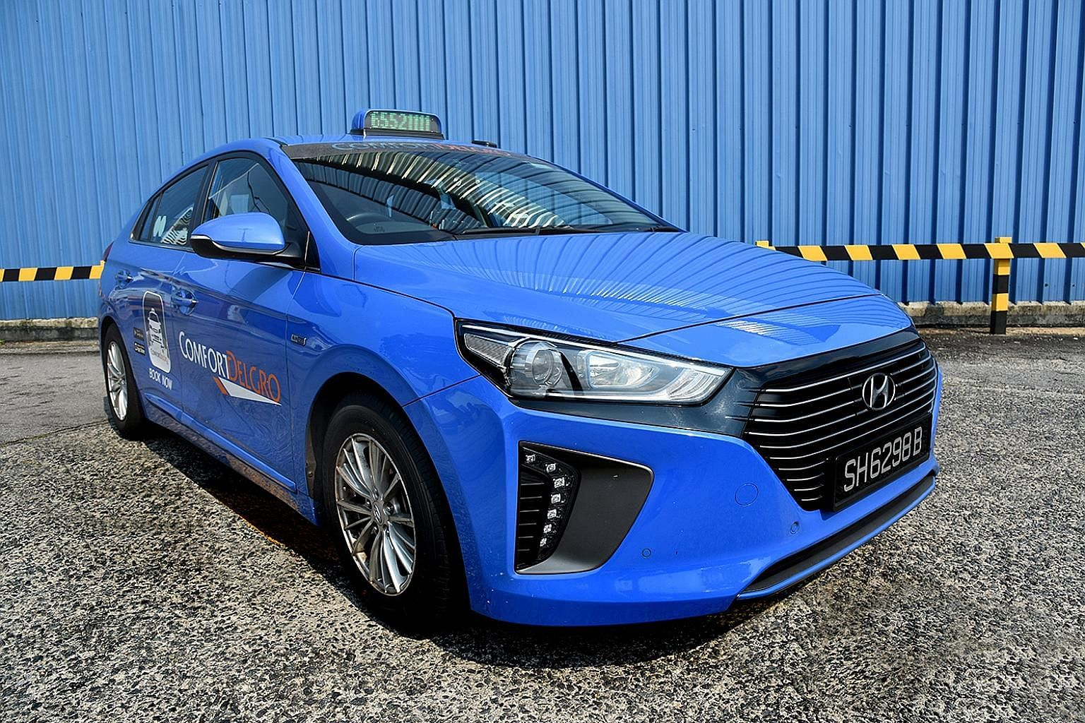 Industry leader ComfortDelGro said it has just placed an order for 200 new hybrid Hyundai Ioniq cabs - its first order in nearly 18 months.