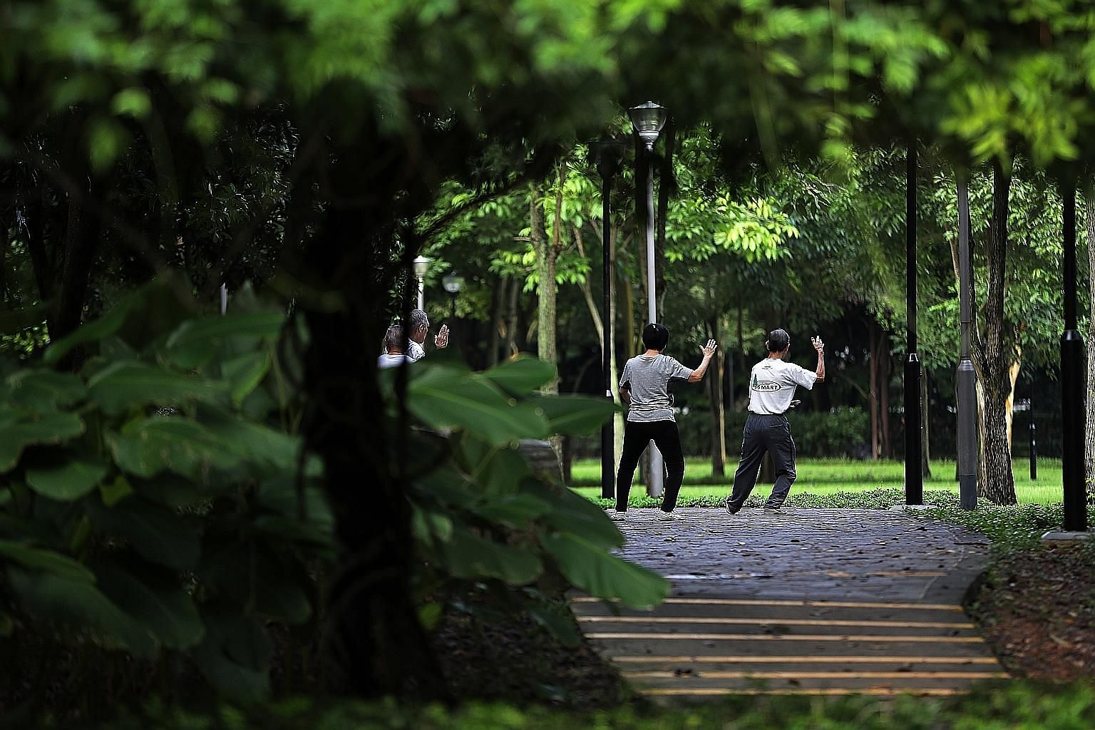 Half of Singaporeans who are healthy at the age of 65 are at risk of developing a severe disability over their lifetime, according to estimates by the Ministry of Health.