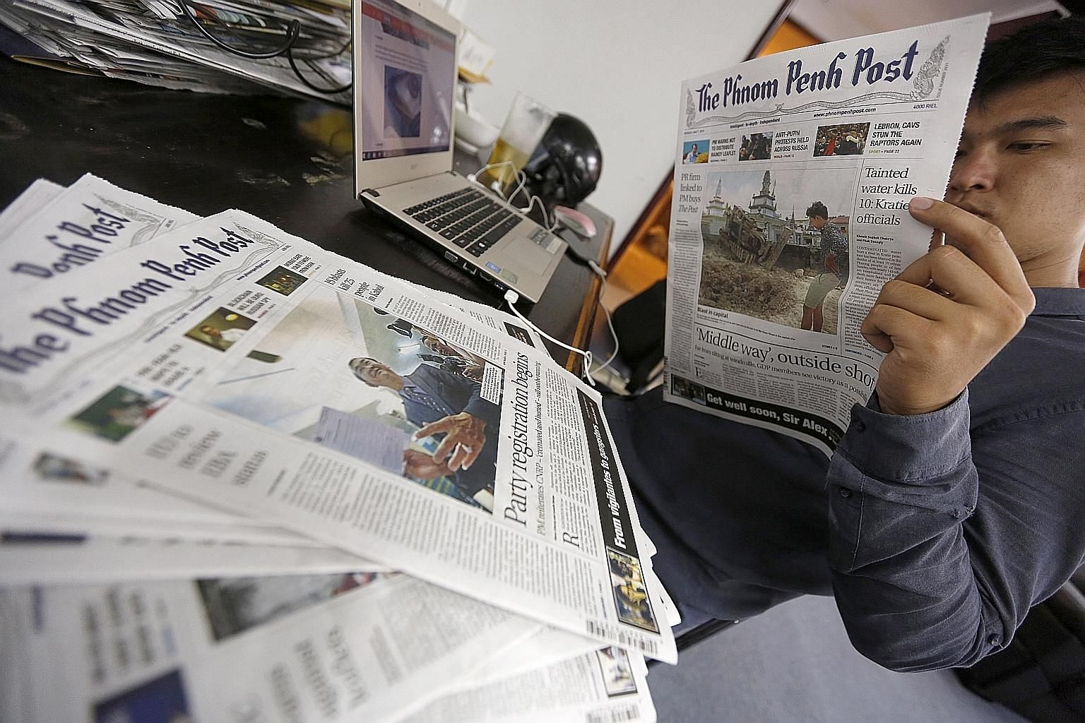 Founded in 1992, the English-language Phnom Penh Post has built a reputation for independent reporting that can be critical of the government on issues such as illegal logging and corruption.