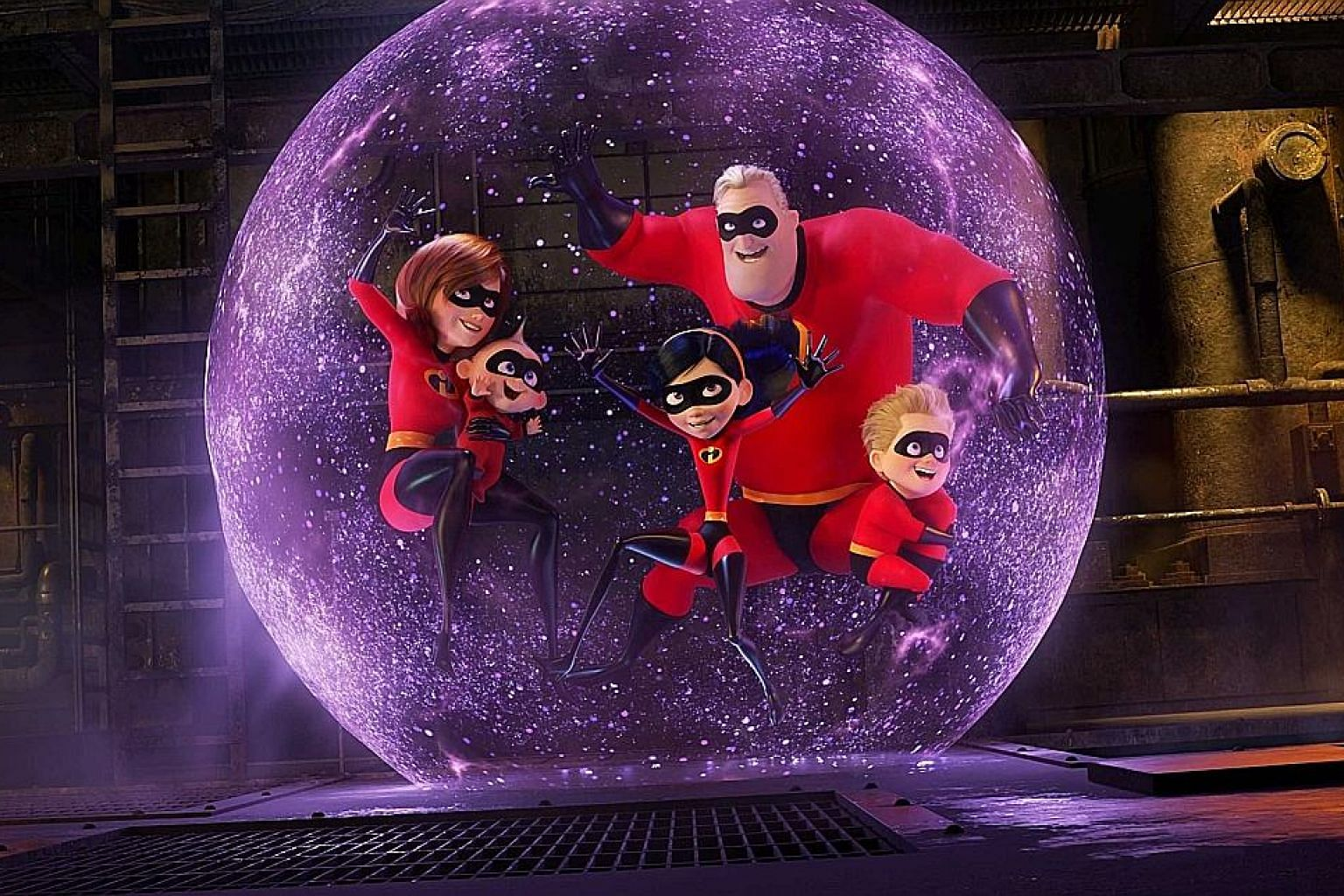 Disney/Pixar's Incredibles 2 will be released on June 14.