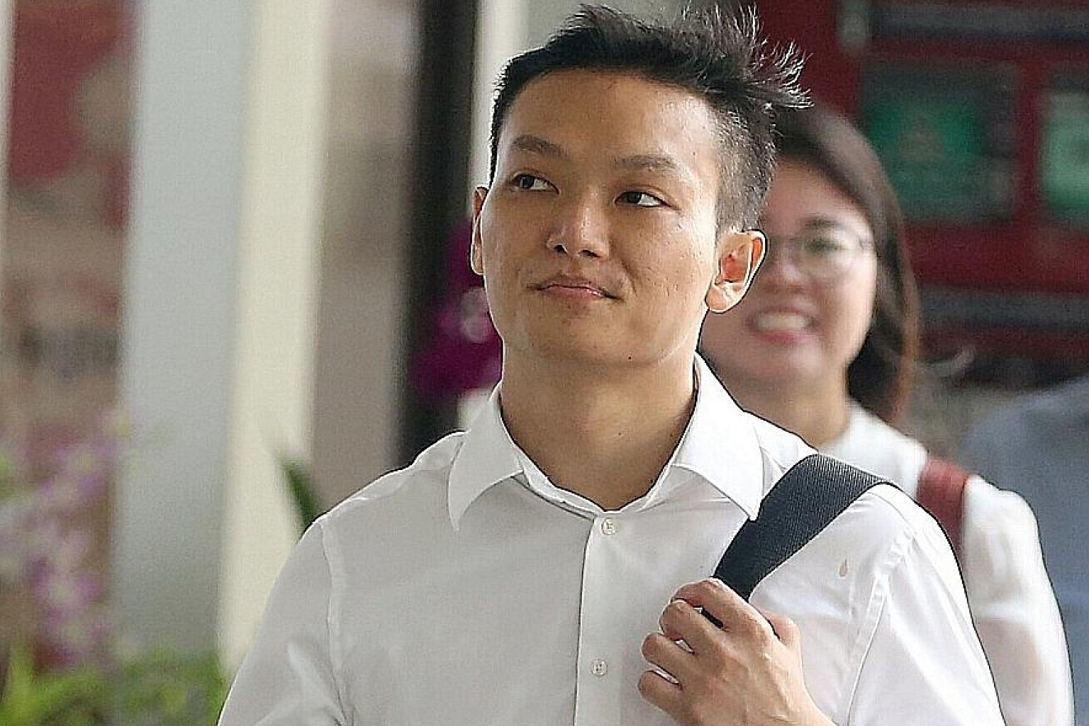 The driver, Brian Li Xian Cheng, was yesterday jailed for two weeks and disqualified from driving for five years.