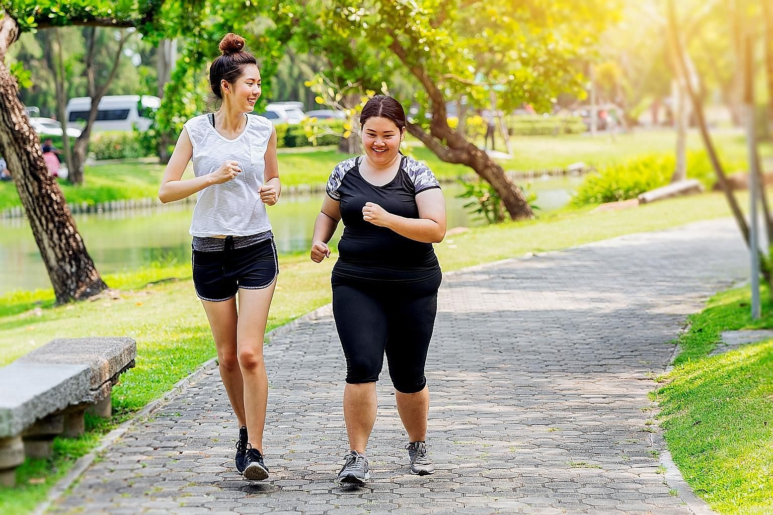 Be it for beginners or people who want to lose excess weight, low-intensity steady state would be a good way to go for anyone who is starting a fitness programme.