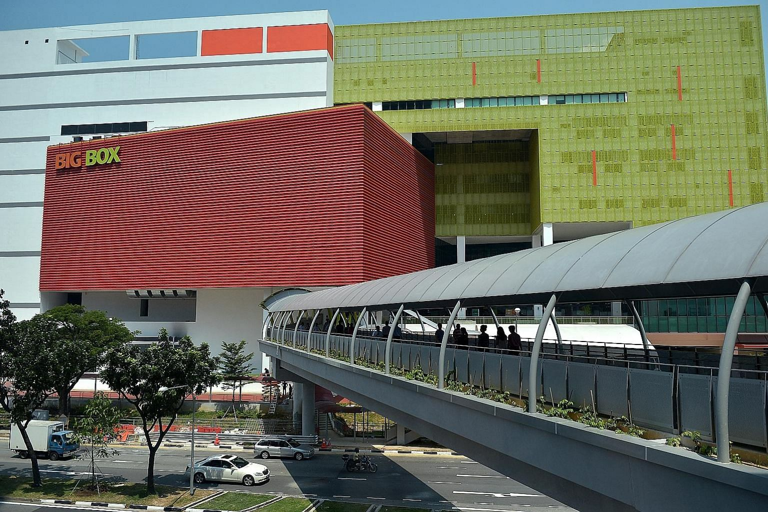 Big Box, an eight-storey warehouse retail mall in Jurong East Regional Centre, is owned by Big Box Pte Ltd, a 51 per cent subsidiary of mainboard-listed consumer electronics retailer TT International. The property has a balance of 19 years on its 30-