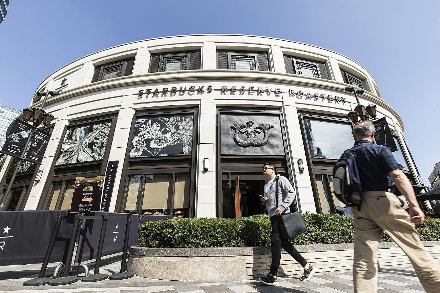 Starbucks' Reserve Roastery store in Shanghai. The coffee giant plans to have 6,000 stores on the mainland by 2022, compared with a previous target of 5,000 by 2021.
