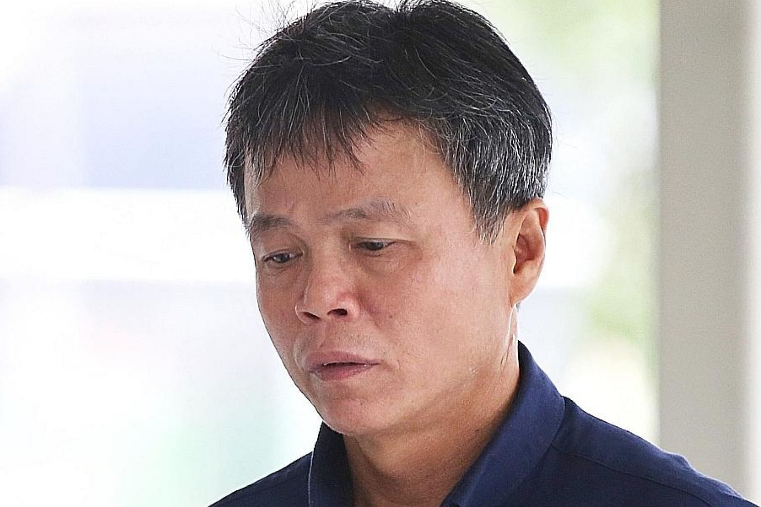 The convicted duo identified Ong Hock Chye (left) in the dock yesterday, but not businessman Lim Hong Liang (below). Both Lim and Ong are accused of being involved in a conspiracy to cause hurt to a waiter who was the businessman's love rival.
