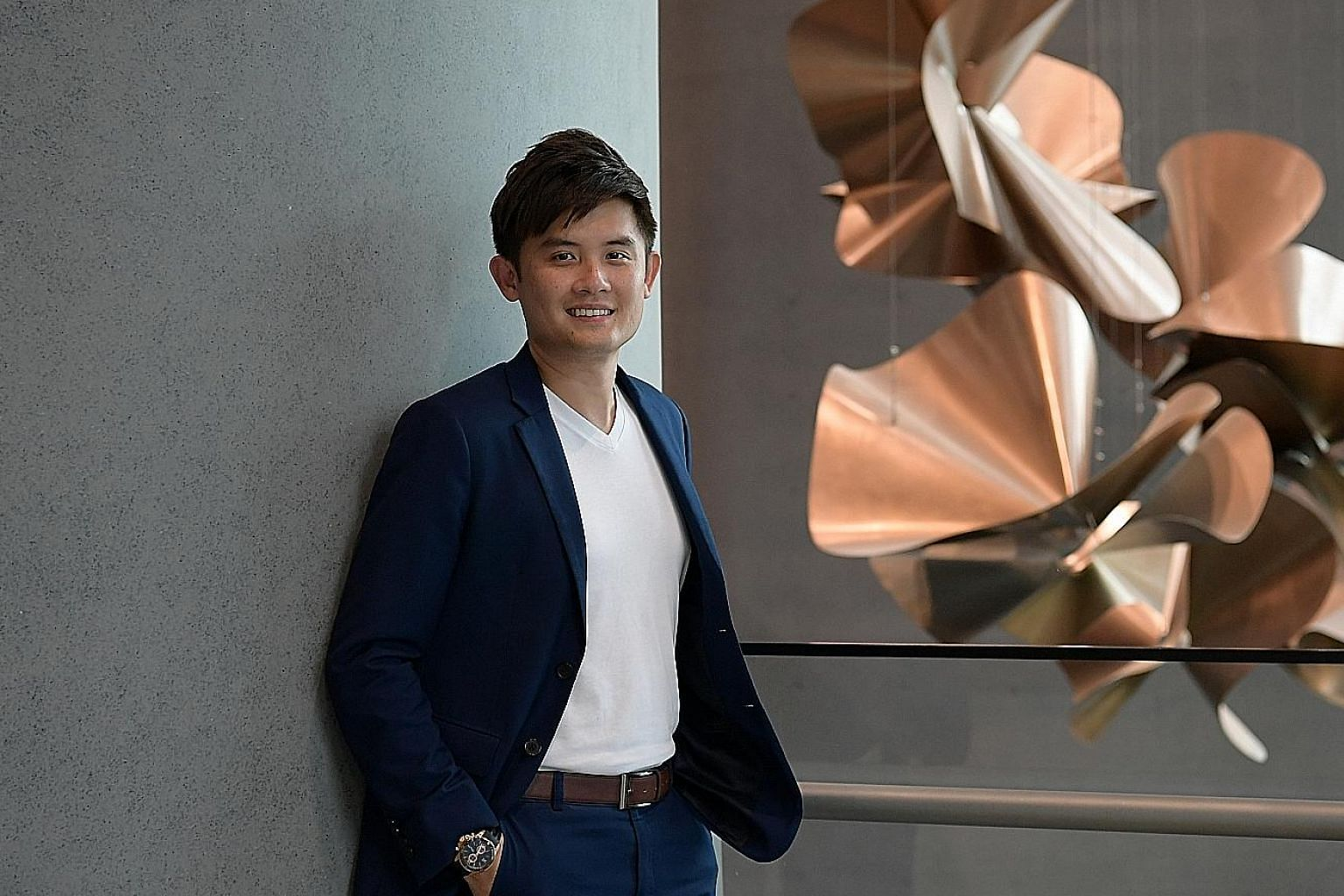 Master financial consultant Leslie Eng has a well-diversified investment portfolio comprising stocks, unit trusts and insurance. He is a big believer in long-term investing and most of his financial assets are purchased with that view in mind. Thirty