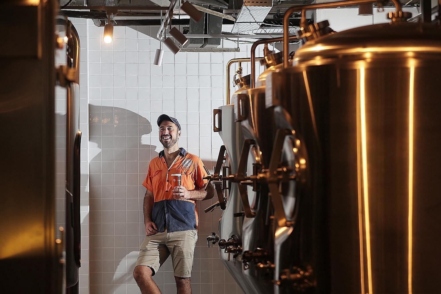 Mr Jum Ryan, regional brewer at Little Creatures Singapore, has already started work on a Singapore-specific beer for the brewpub. Customers at Little Creatures Singapore can expect to have both bottles and beers on tap from the brand's core range.