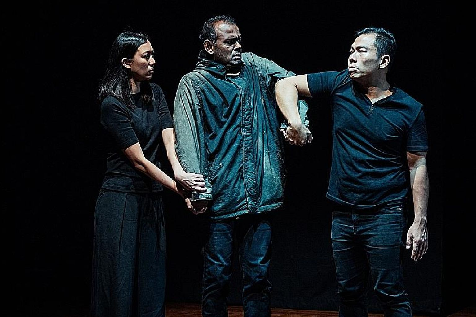 """And Suddenly I Disappear: The Singapore """"d"""" Monologues will feature spoken English, captioning, British sign language and Singapore sign language, among others."""