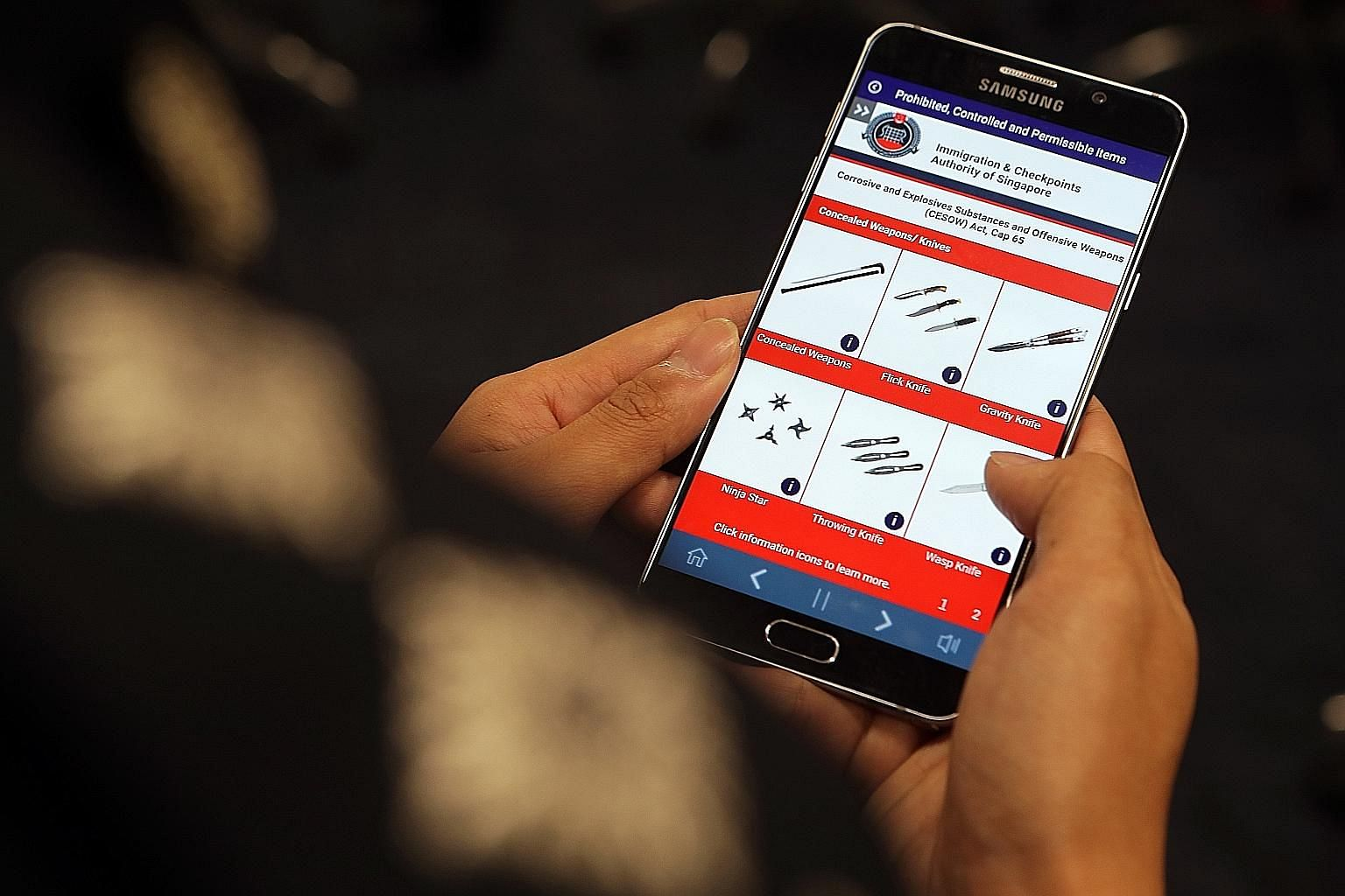More than 100 Home Team officers have already used the mobile app which lets officers learn at their own pace.