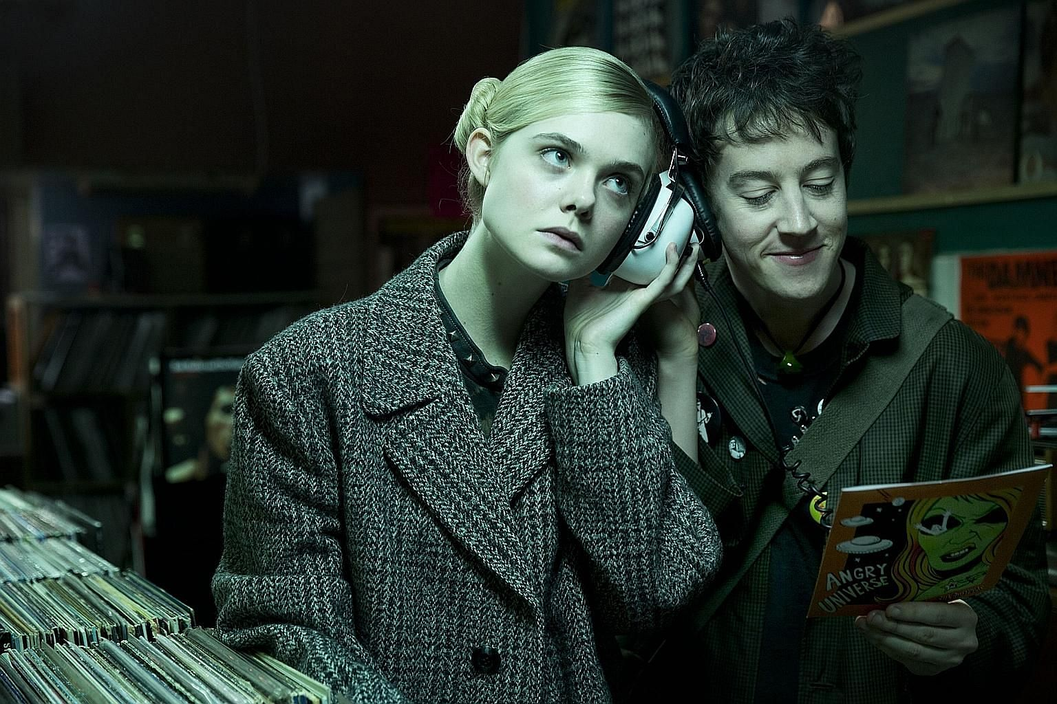 Elle Fanning and Alex Sharp star in How To Talk To Girls At Parties.