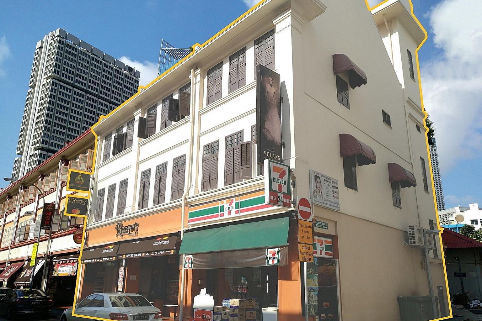 Three Liang Seah Street shophouses within the Beach Road Conservation Area are up for sale via private treaty at $30 million.