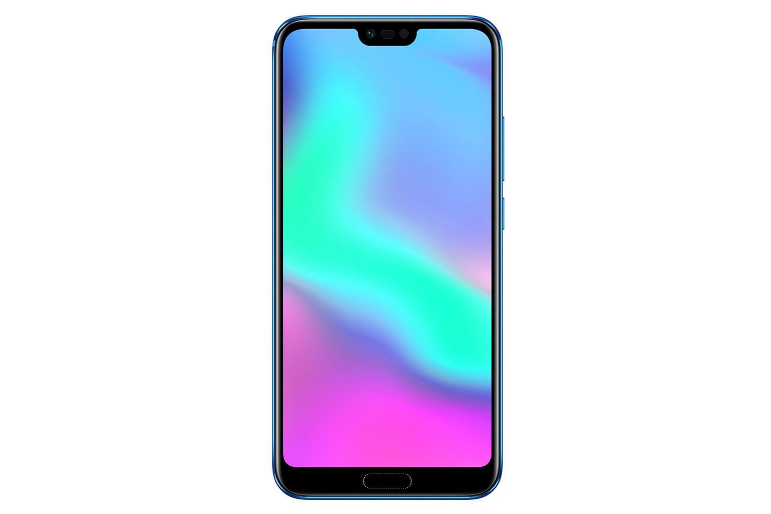 The Honor 10 has an optical coating that causes the colour of its glass back to appear either blue or purple when viewed from different angles.