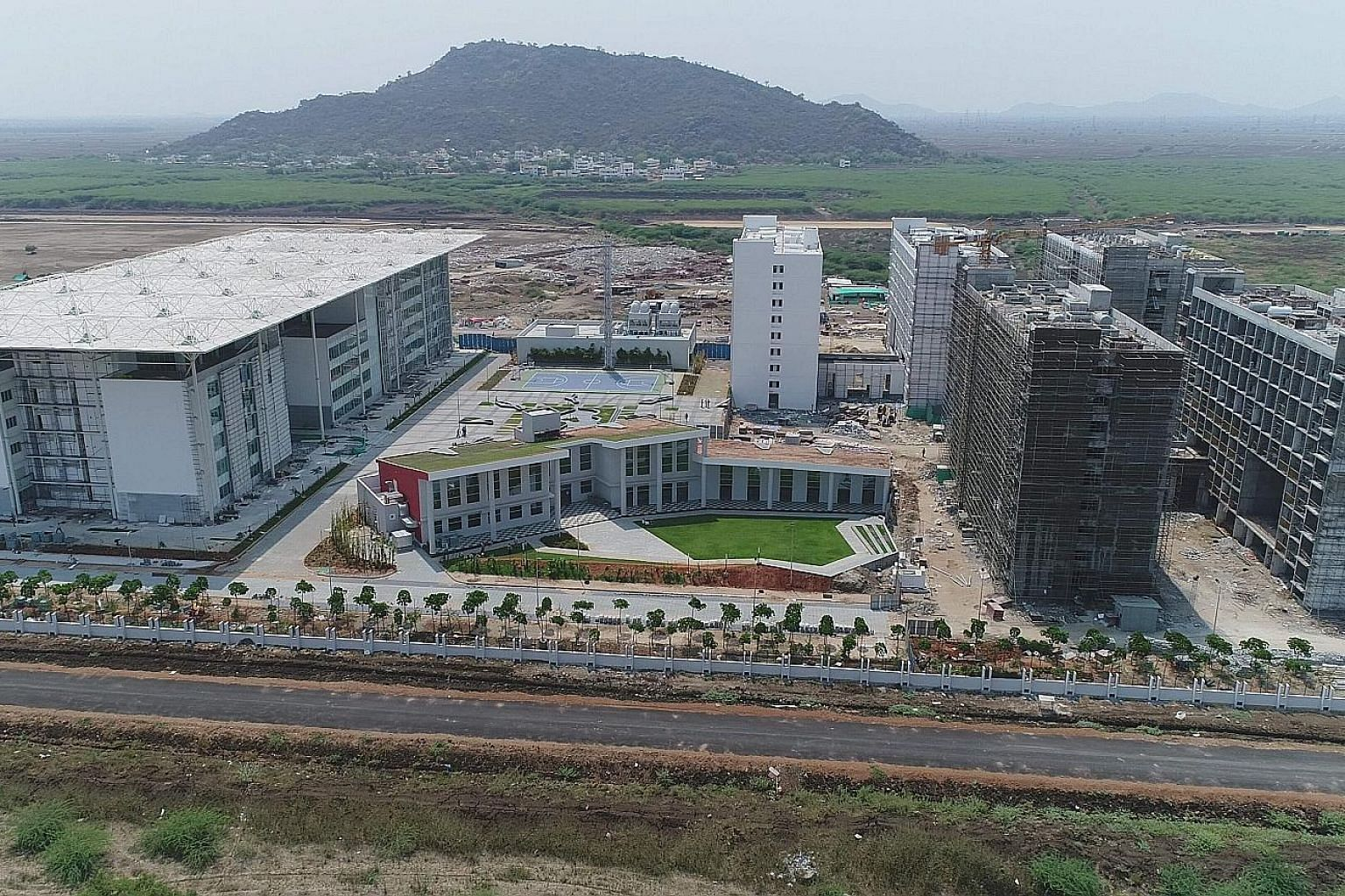 Amaravati, Andhra Pradesh's new capital city, is being built from scratch along the Krishna river. Singapore has been involved in helping the southern state build the city since 2014, and two agreements to begin work on the start-up area were signed