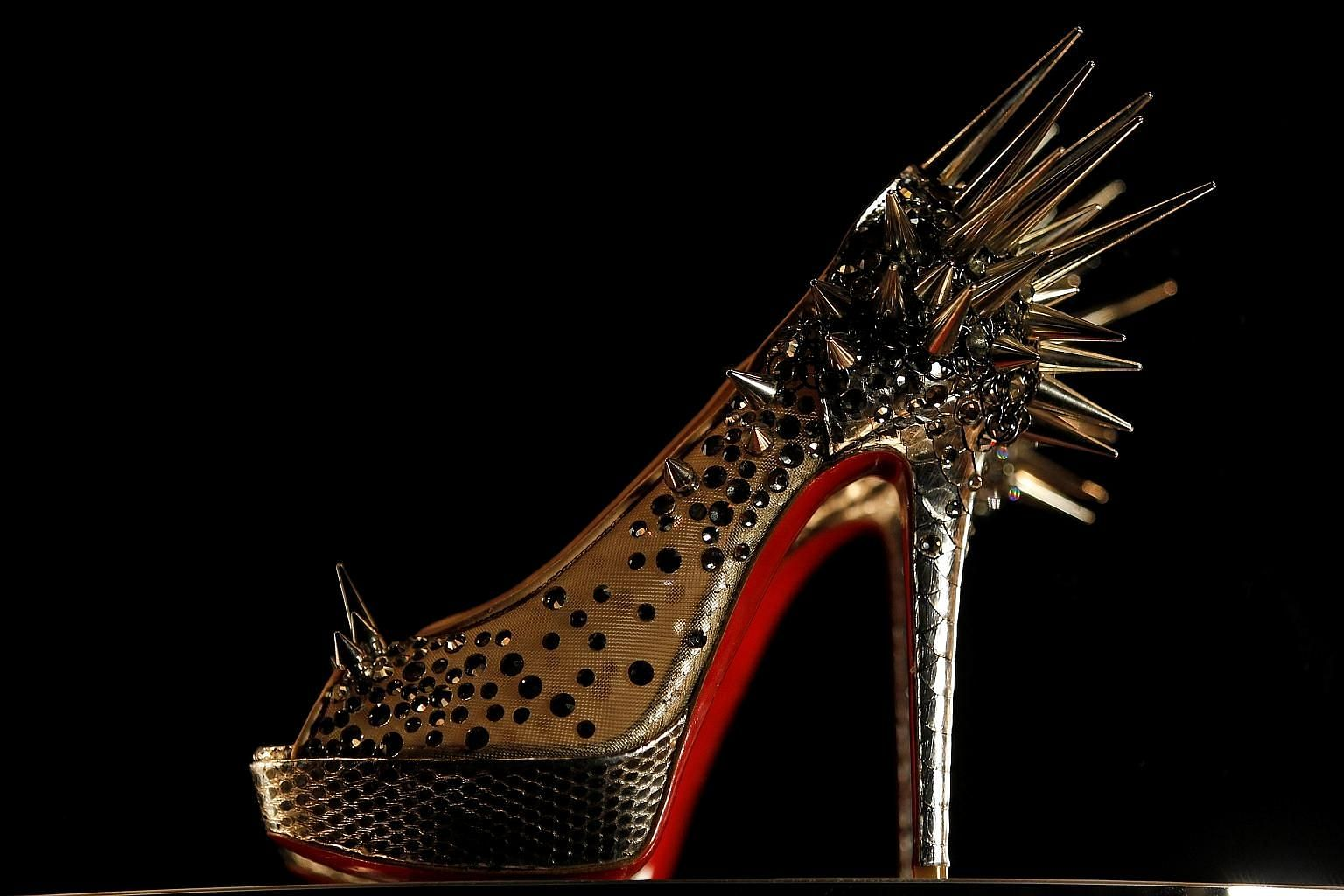 Paris-based Louboutin has marketed the red-soledshoes for more than 25 years.