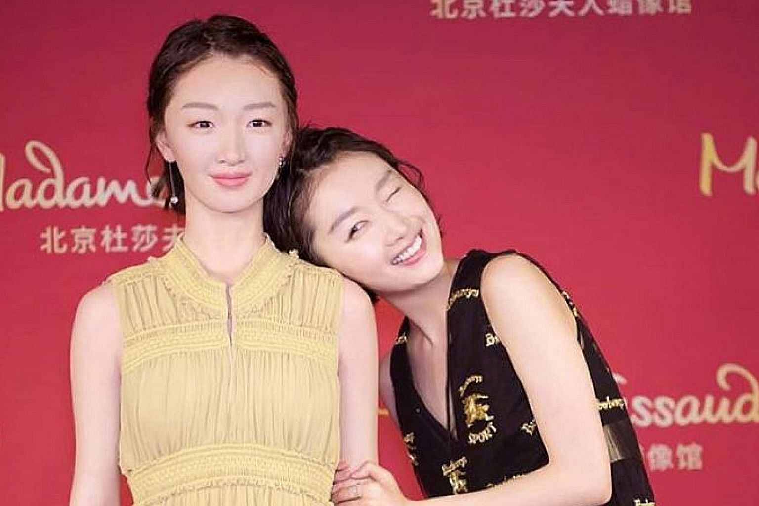 Zhou Dongyu, who won a Golden Horse trophy for Best Actress in 2016 for her role in Soul Mate, has found a soulmate in her likeness. Madame Tussauds in Beijing recently installed a wax figure (in yellow gown) of the actress, who made box-office waves