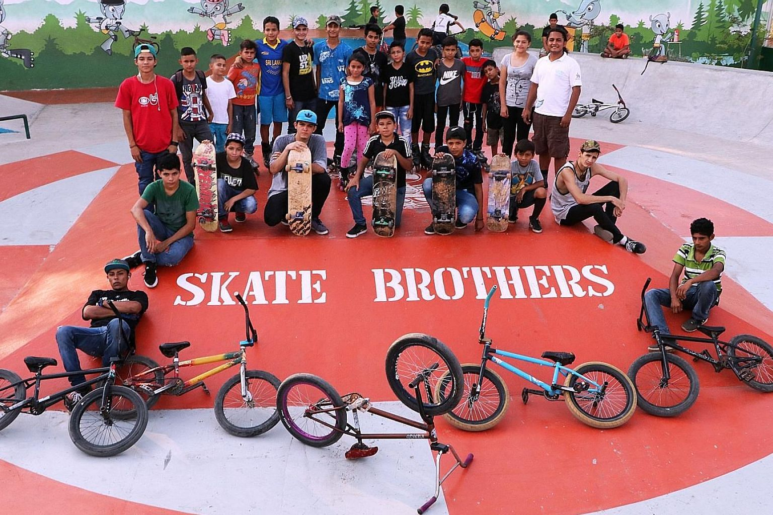 From the dark underworld of gangs into the vibrant world of sport. Honduras' non-profit club Skate Brothers has been pulling in young skaters, freestyle dancers and even singers.