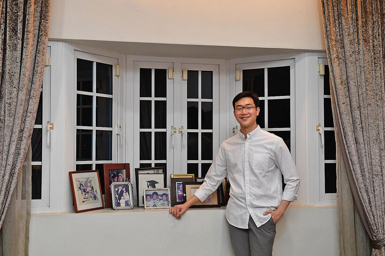 Mr Daniel Lim says his biggest mistake was waiting till he started working to begin financial planning. This means he has a lot of catching up to do.