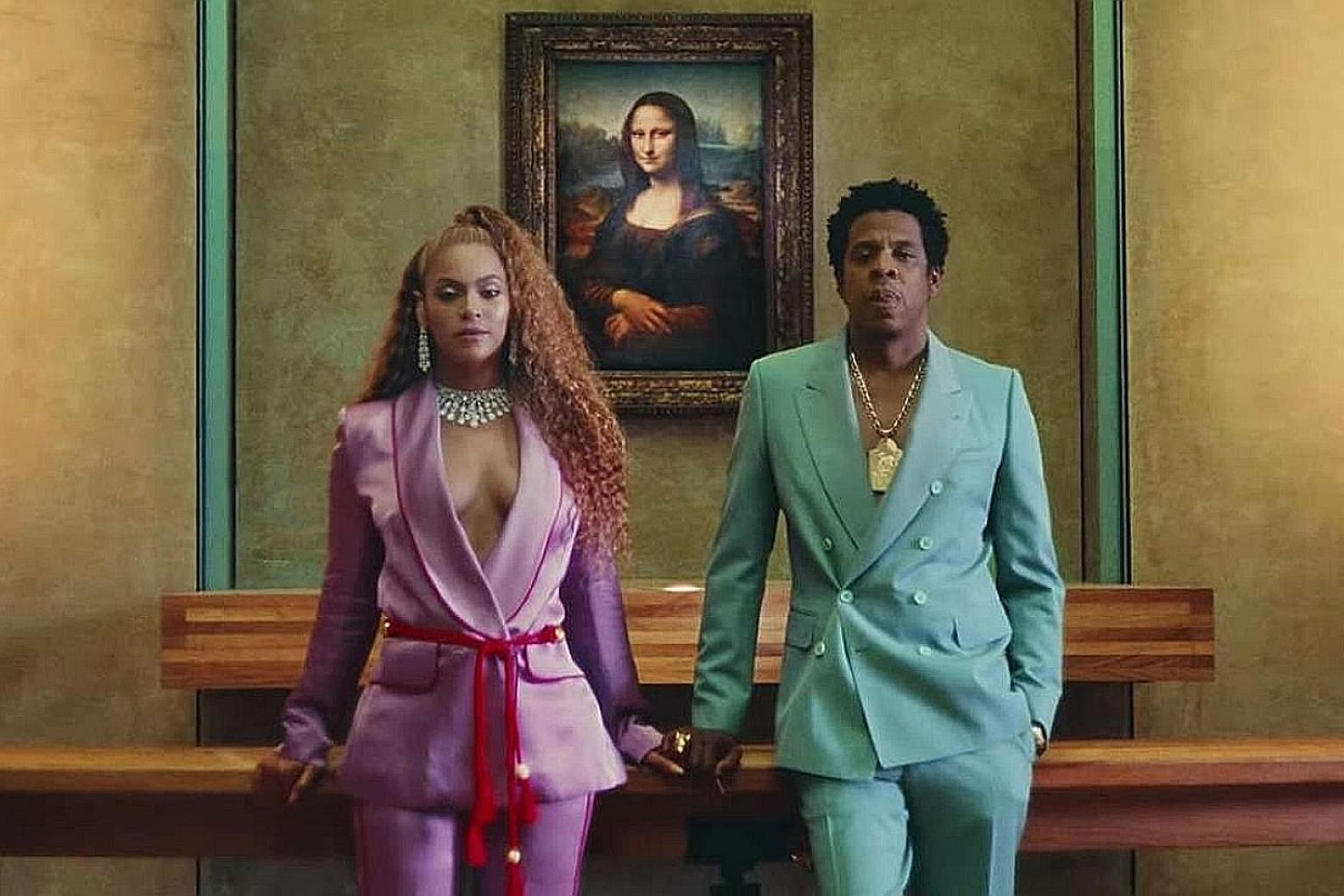 Hip-hop royalty Beyonce and Jay-Z seize control of the narrative of their lives with their joint album.