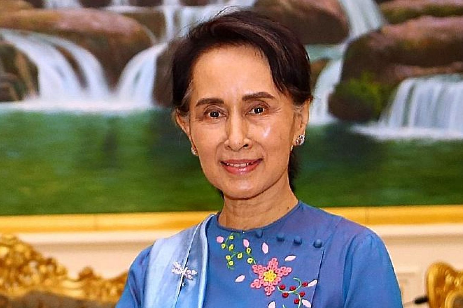 Ms Aung San Suu Kyi said patience and time are needed to restore trust between the communities.