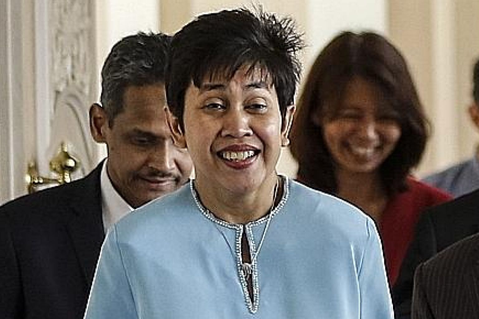 """Bank Negara Malaysia governor Nor Shamsiah Mohd Yunus said she accepted the appointment with an """"utmost sense of honour and responsibility""""."""