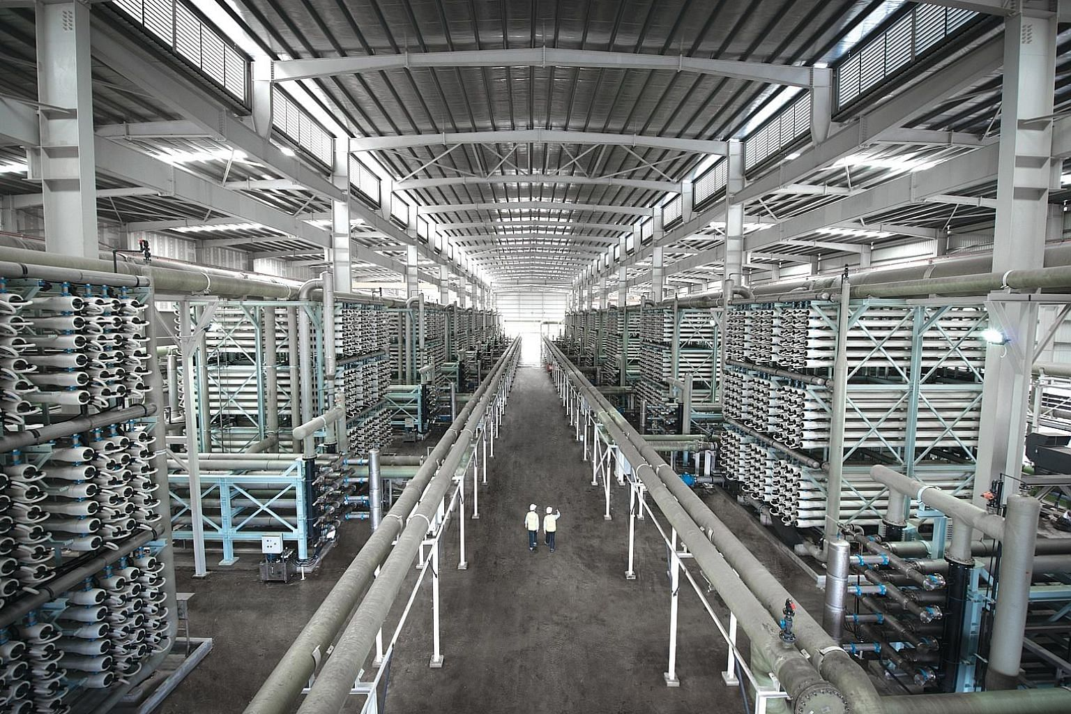 Hyflux's Tuaspring Desalination Plant. The water treatment firm's decision to suspend trading in its perps has put the spotlight on perpetual securities.