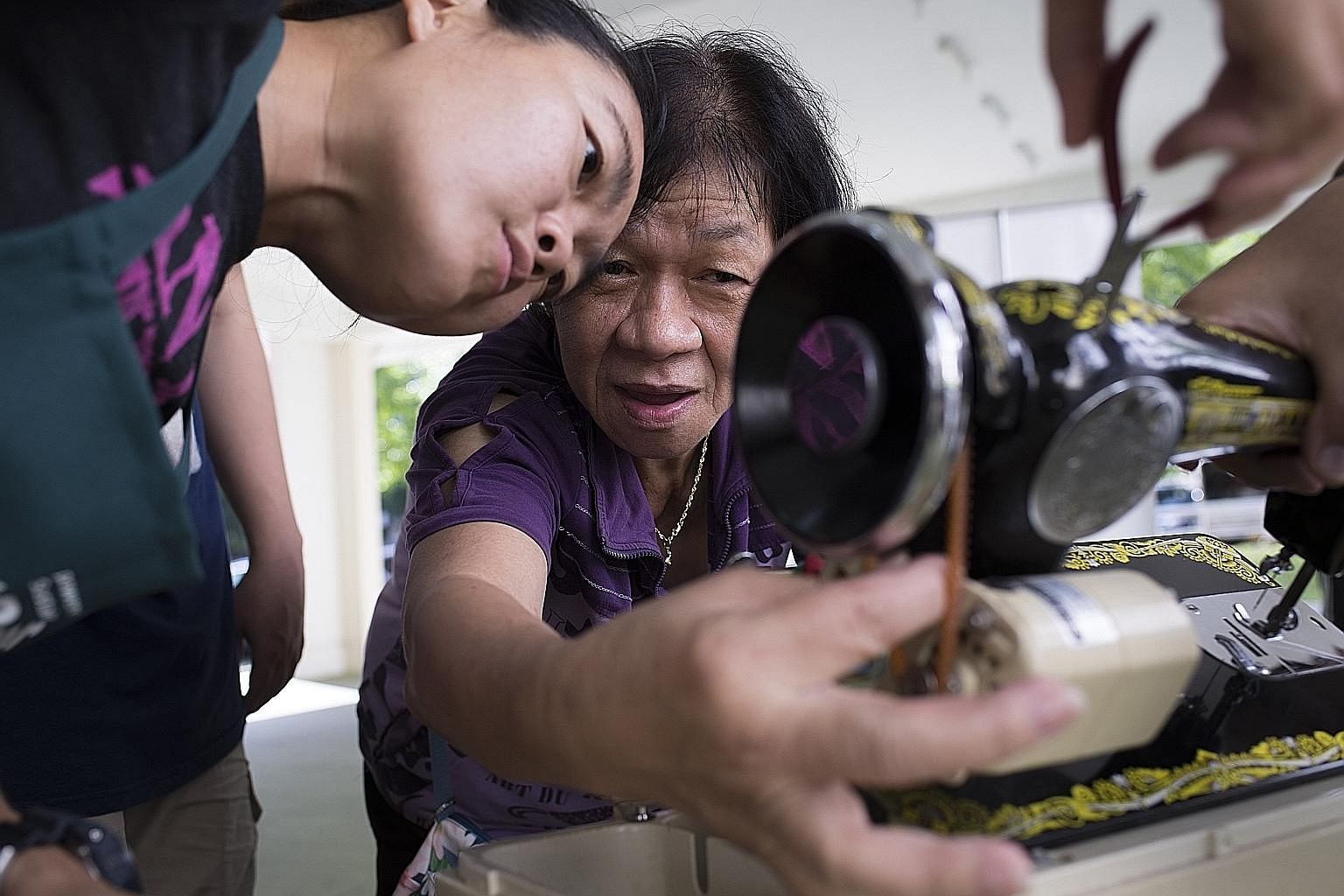 Repair Kopitiam sets up shop in a void deck in Jurong West and Tampines on the last Sunday of every month and participants can pick up repair skills from volunteer coaches. The Singapore Really Really Free Market is a roving market where everything f