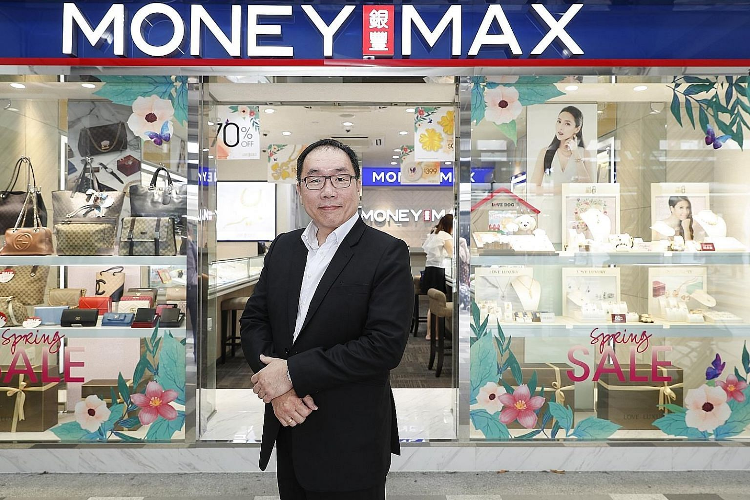 MoneyMax executive chairman and chief executive Lim Yong Guan says the company was incorporated in 2008 with a vision to transform traditional pawnbroking into a modernised, trusted and convenient financial solutions provider. Today, each store is br