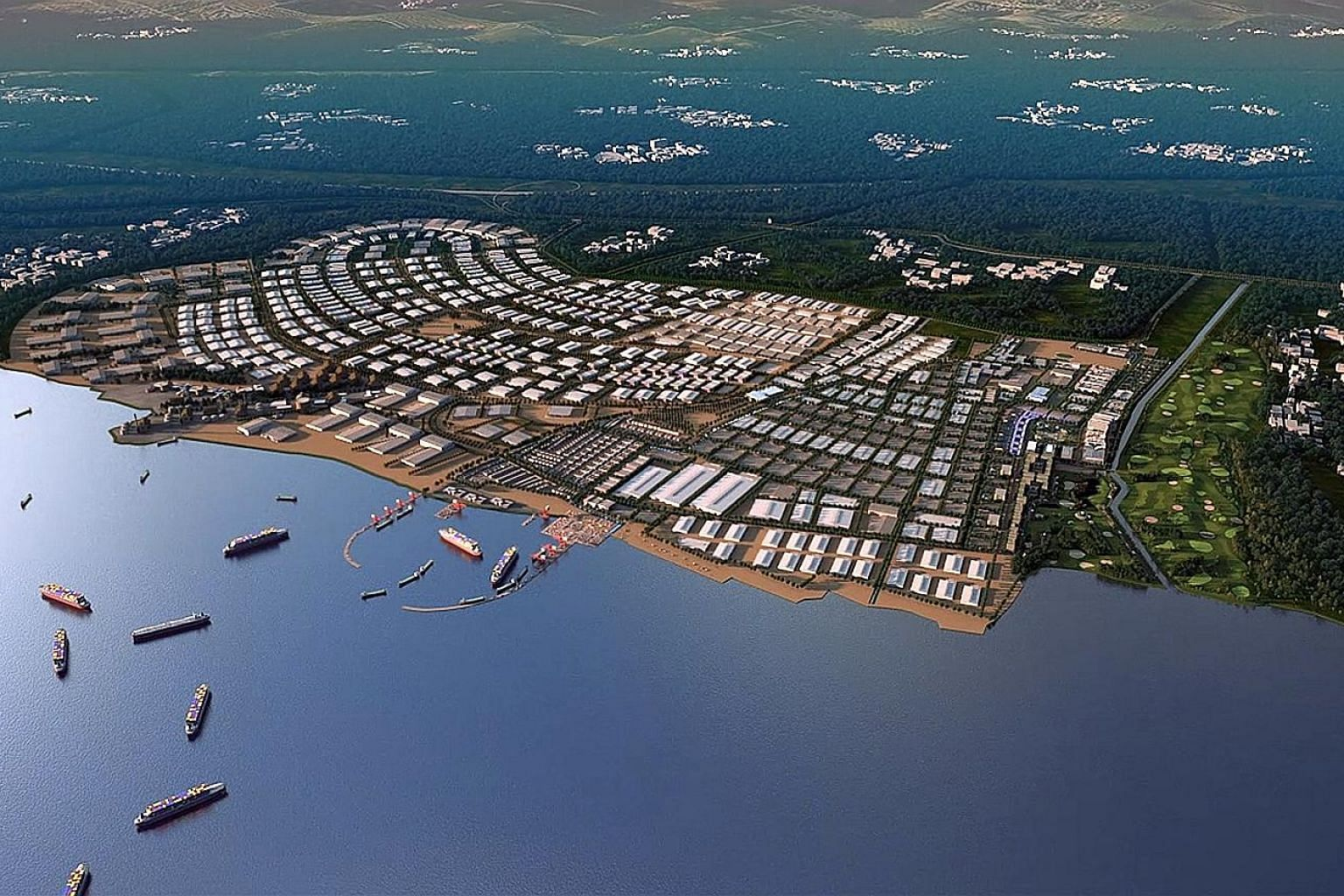 Kendal Industrial Park in Central Java is expected to generate around 100,000 jobs when the first phase of the project is complete in 2021, according to Sembcorp. Located less than an hour's drive from the provincial capital Semarang, the industrial