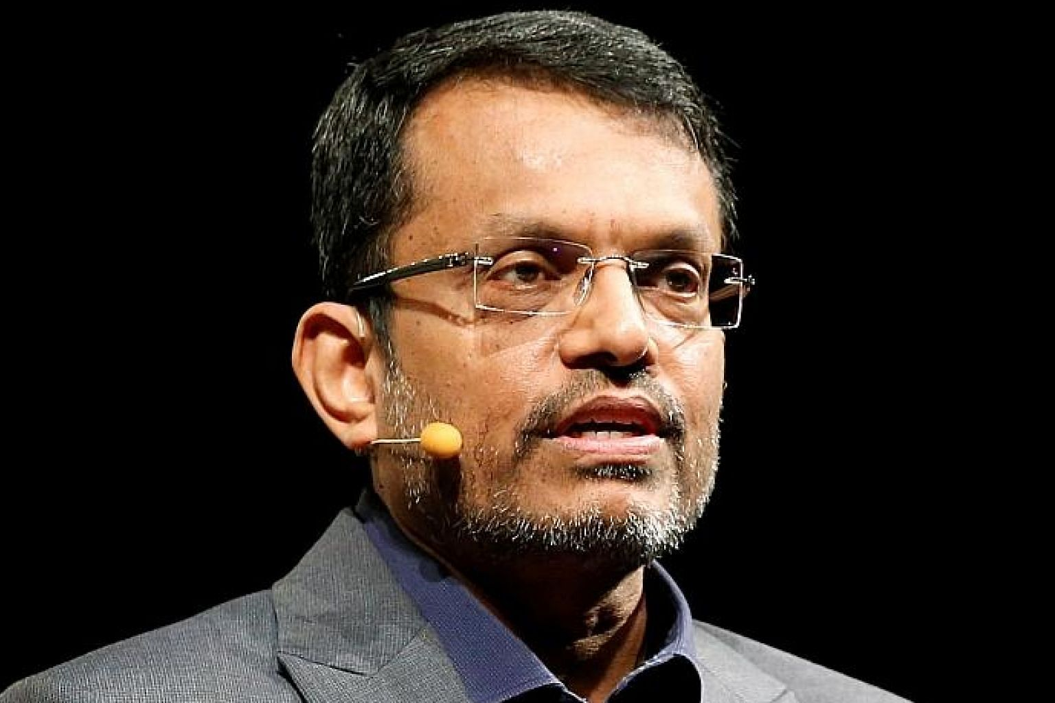 MAS managing director Ravi Menon framed his speech at the symposium as an imaginary address given in 2028.