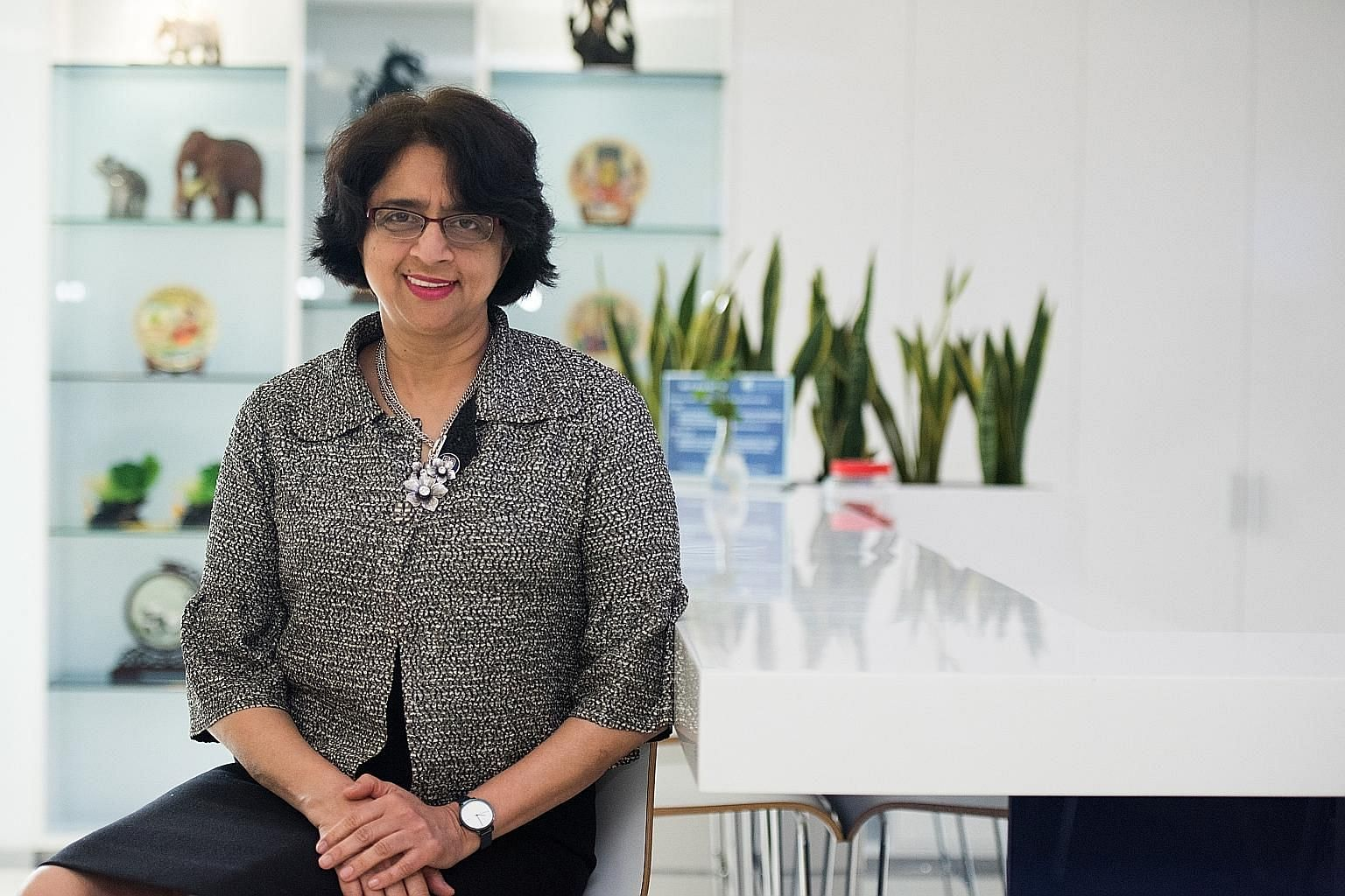 Dr Siva Kumari, director-general of the International Baccalaureate, says nations are researching the IB strategy and seeing if it can be implemented across the school system, and that Singapore had a huge influence in popularising the programme. Cur