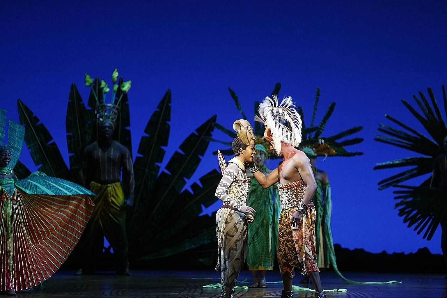 The Lion King is a glorious spectacle, a celebration of life and the spirit of Africa.