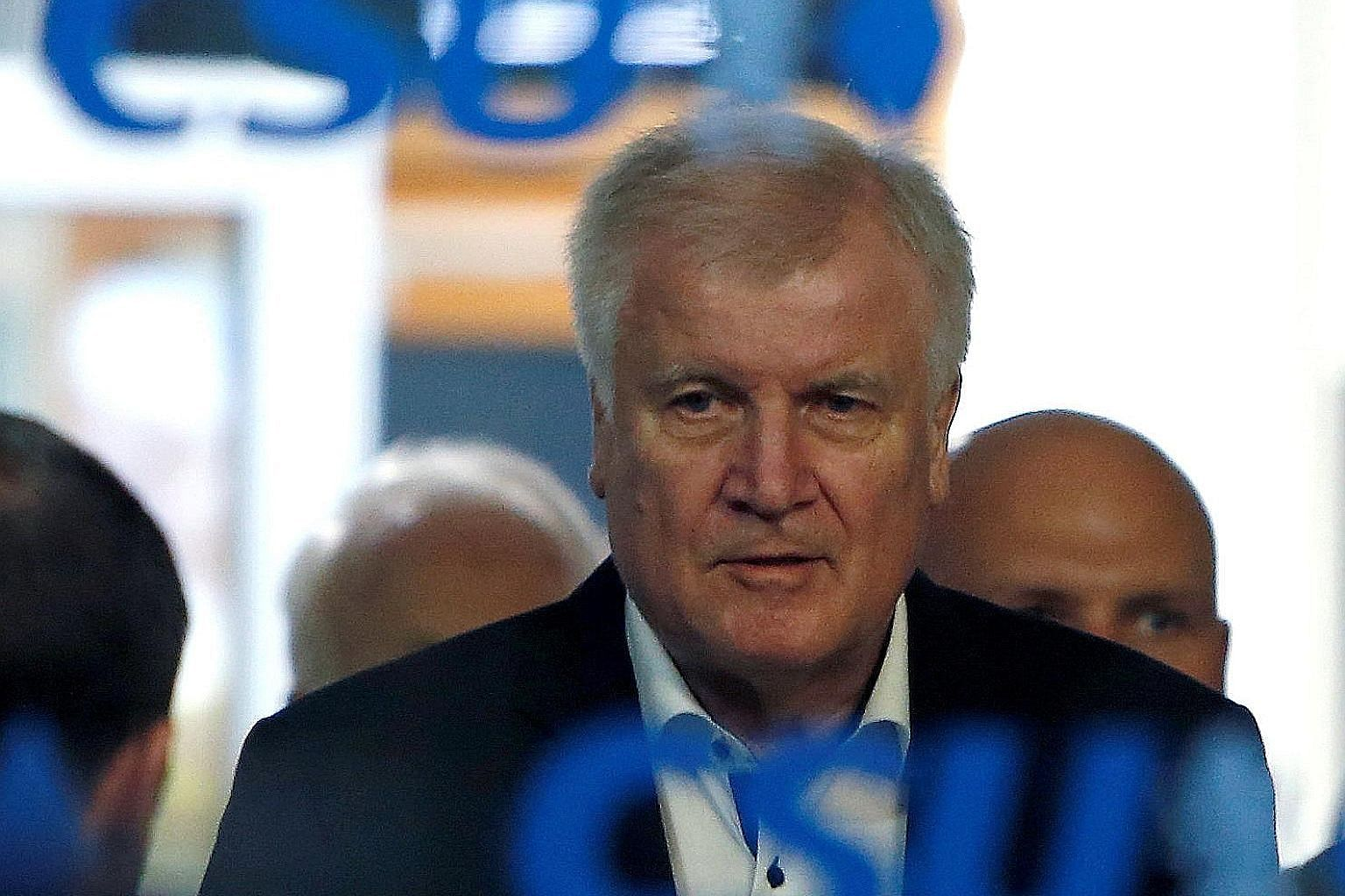 Interior Minister Horst Seehofer's resignation threat was not backed by his Bavarian colleagues