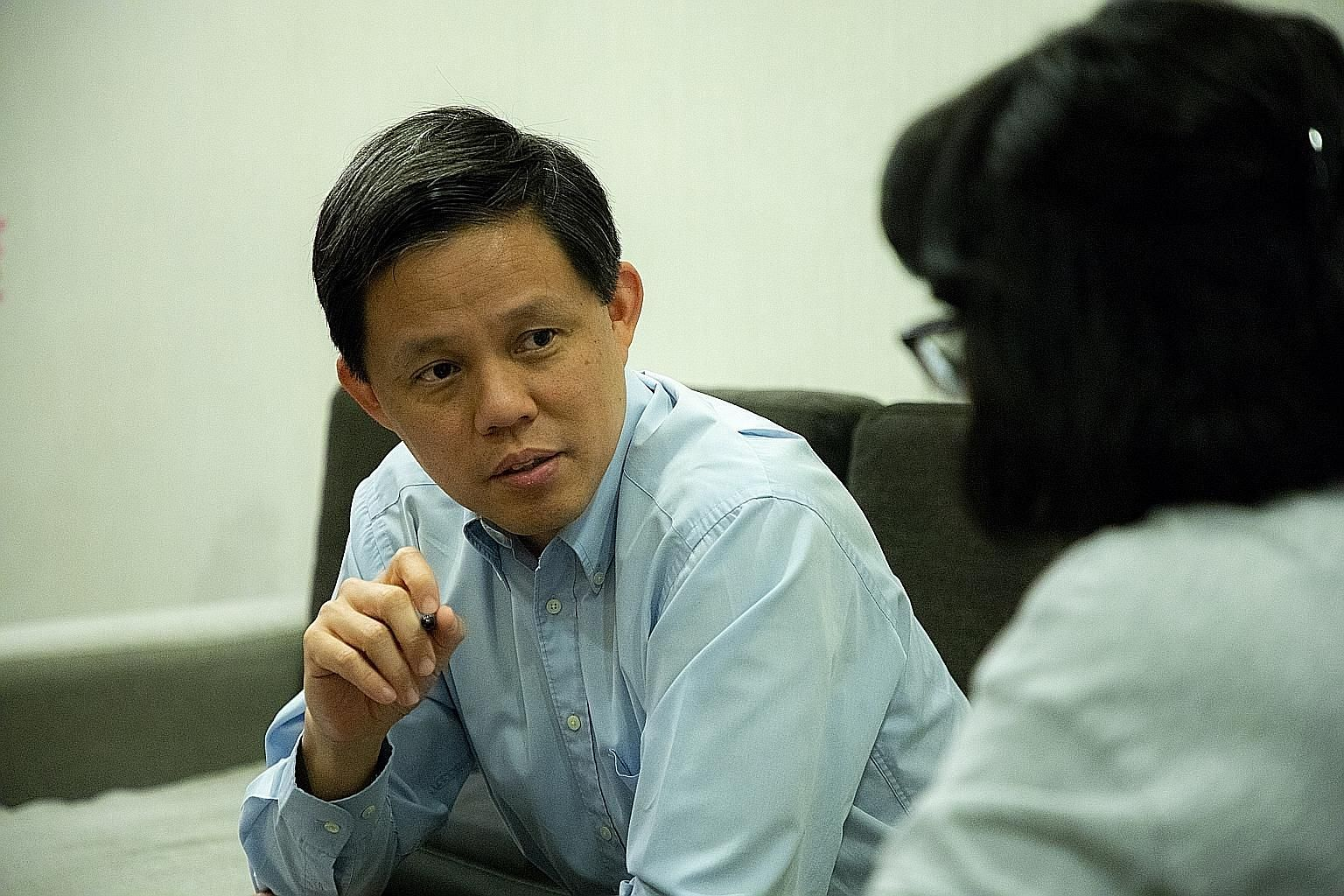 Minister-in-charge of the Public Service Chan Chun Sing spoke to The Sunday Times in an interview during Public Service Week, which ends today.