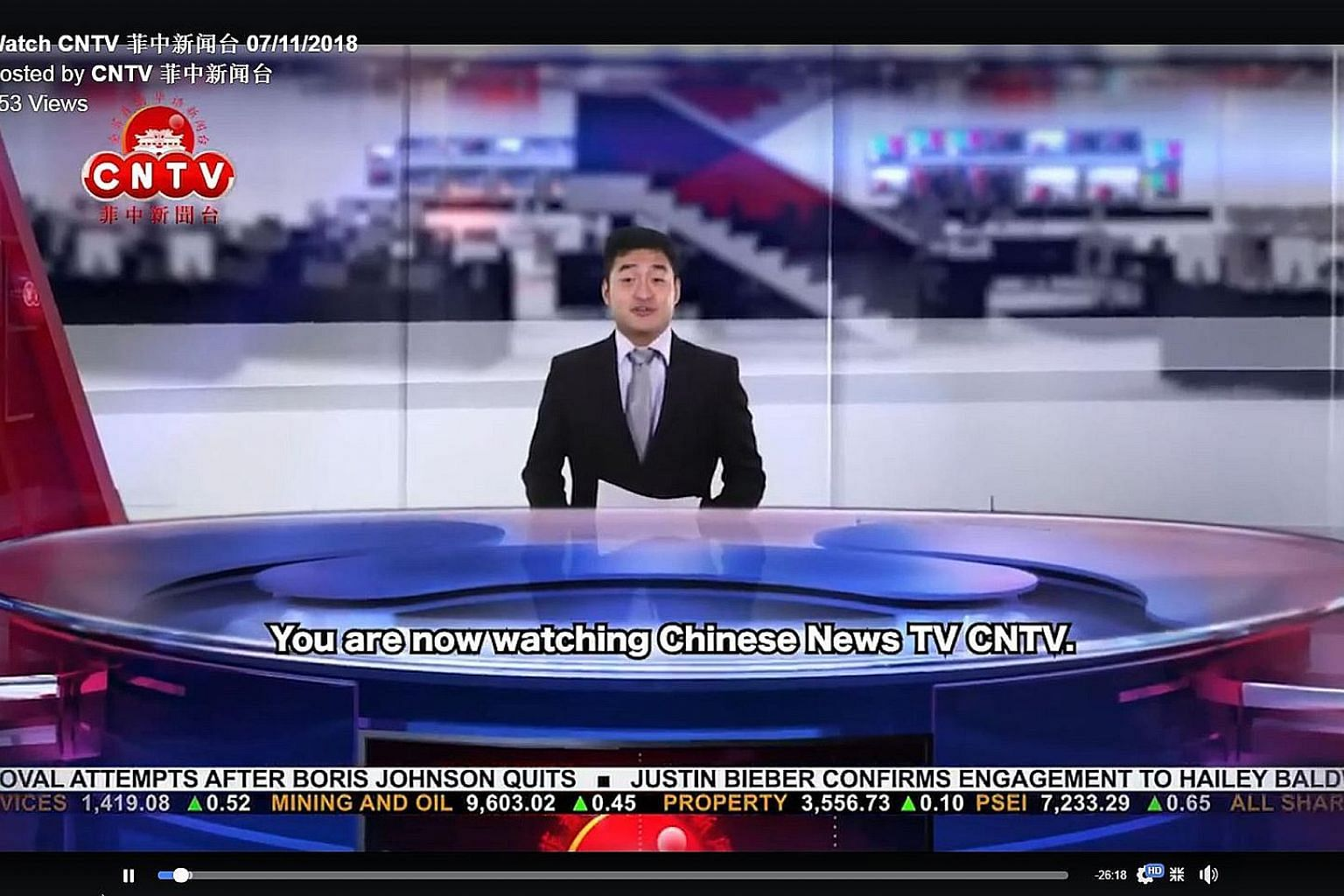 China News TV, launched by Chinatown TV last year, is a 30-minute news programme delivered in Mandarin but with English subtitles.