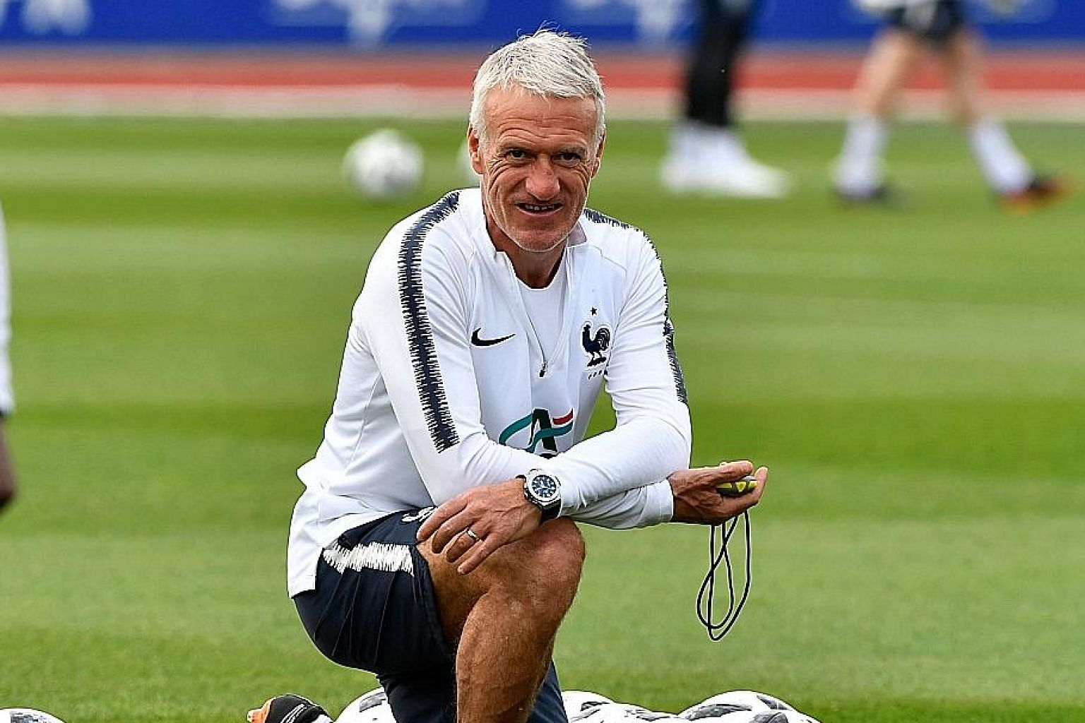 Didier Deschamps bases his selection on how France would function as a team.