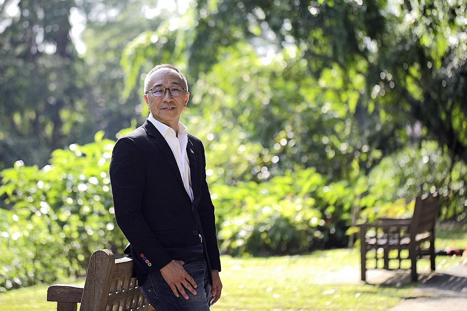 Mr Eric Lim and his family have a mixed investment portfolio, with 5 per cent in fixed deposits, 10 per cent in stocks, 30 per cent in property and the remaining 55 per cent in his businesses.