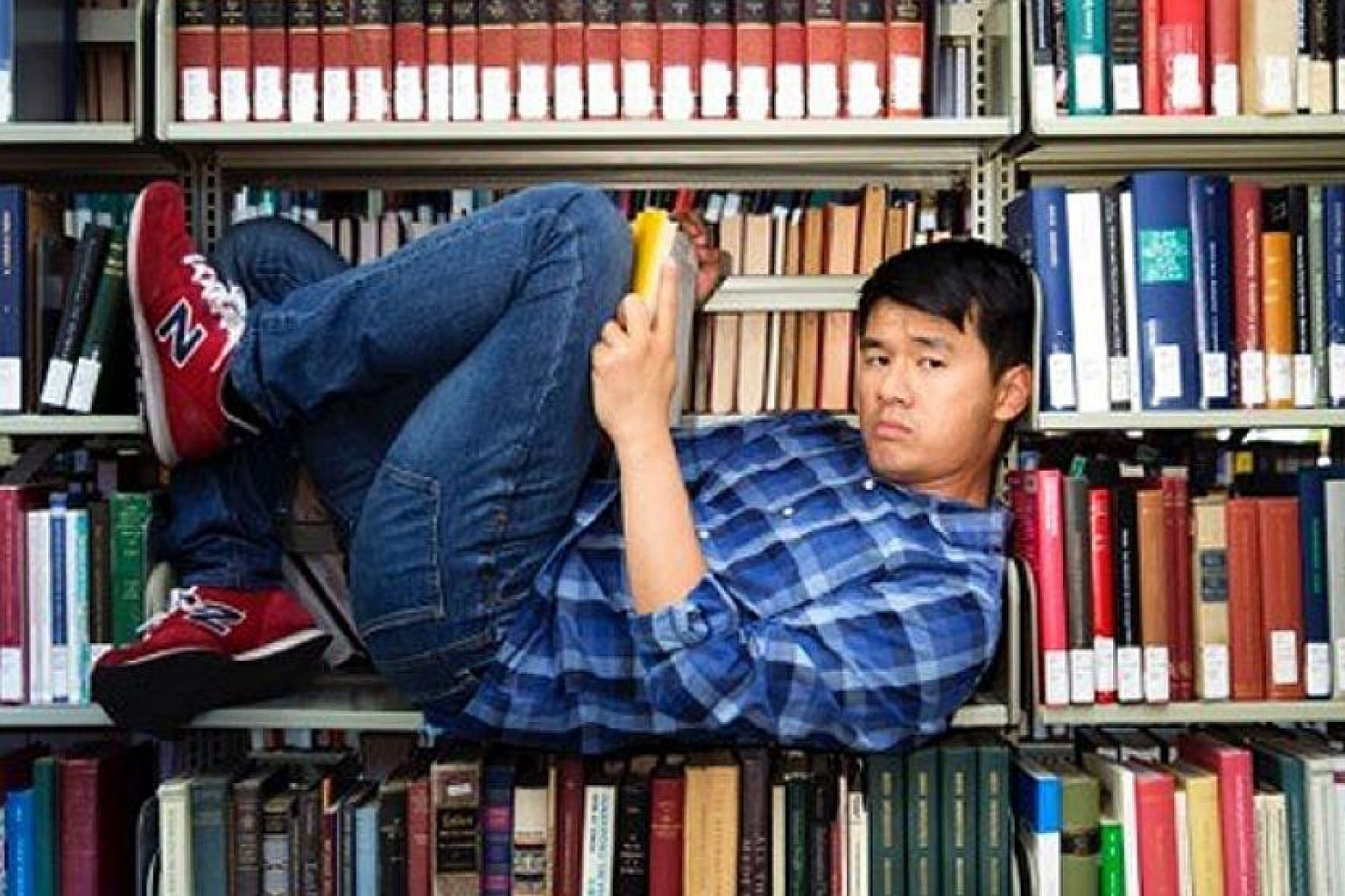 Comedian Ronny Chieng completed most of his education in Singapore.