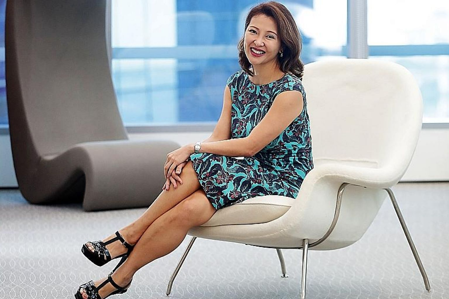 Most professionals in the Asia-Pacific still take a more passive approach to their skills development, says Ms Feon Ang, LinkedIn's vice-president of talent and learning solutions for Asia-Pacific.