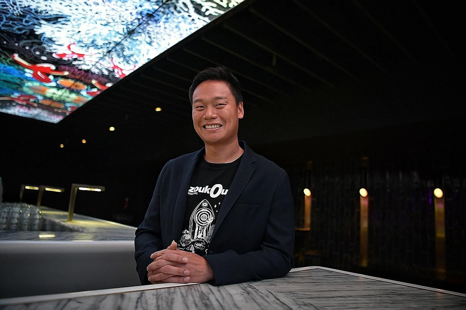 Zouk Group chief executive Andrew Li says it plans to lend the Zouk branding to new ventures in F&B and hospitality.