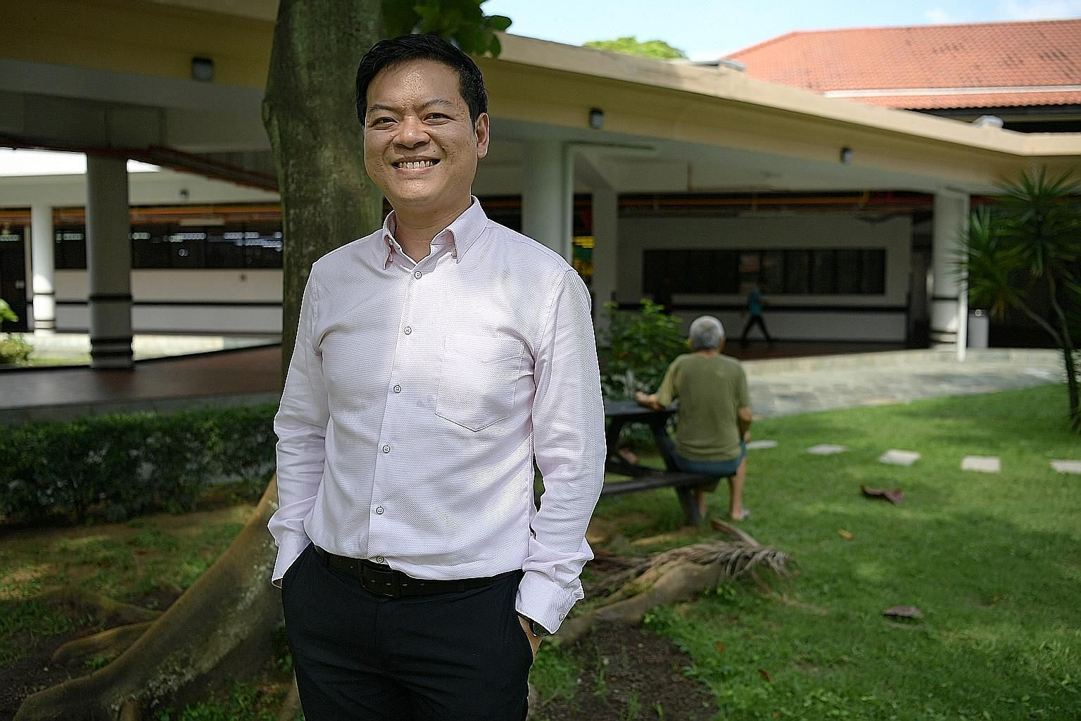 Mr Roger Tan won a Healthcare Humanity Award earlier this year for his work with psychiatric patients who have committed offences. He helps them set goals and work on achieving them.