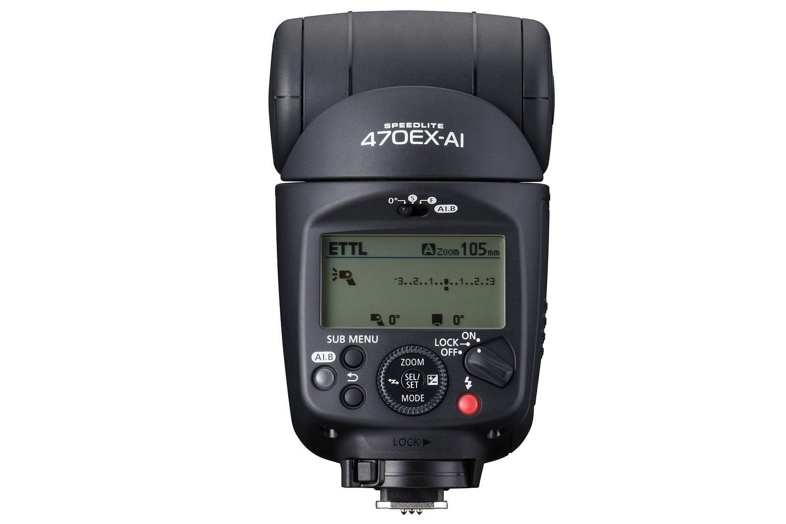 The Canon Speedlite 470EX-AI is great for beginners who may not be well-versed in flash photography.