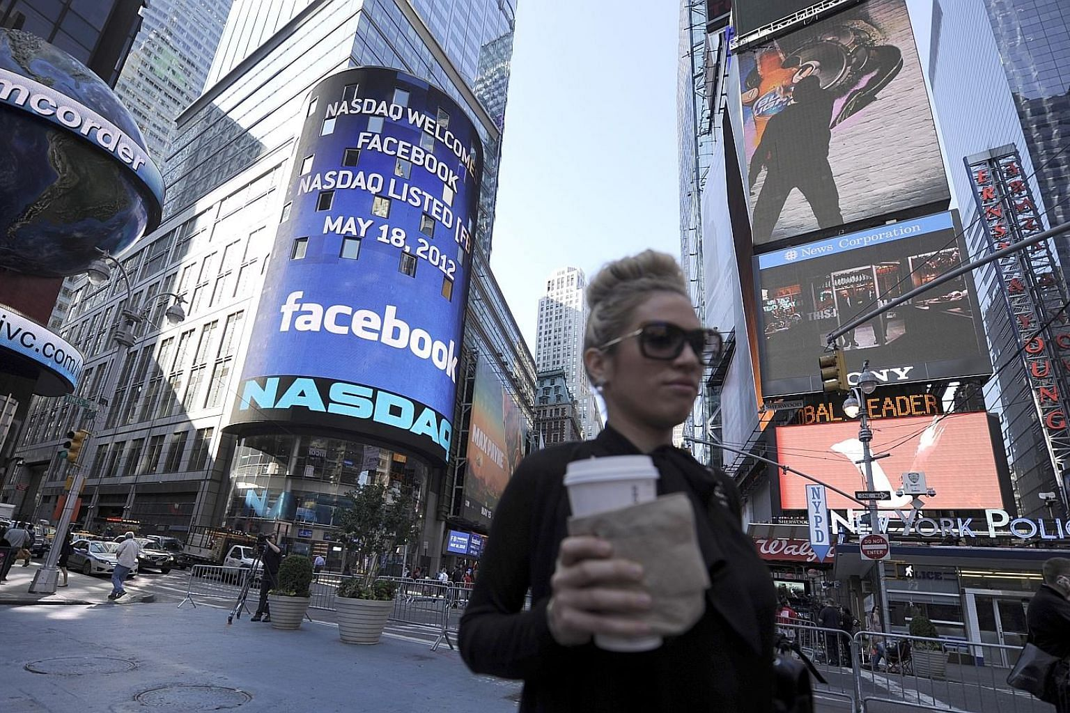 Facebook's shares fell 20 per cent on Thursday and $150 billion was wiped off its market value but it remains the dominant social media player.